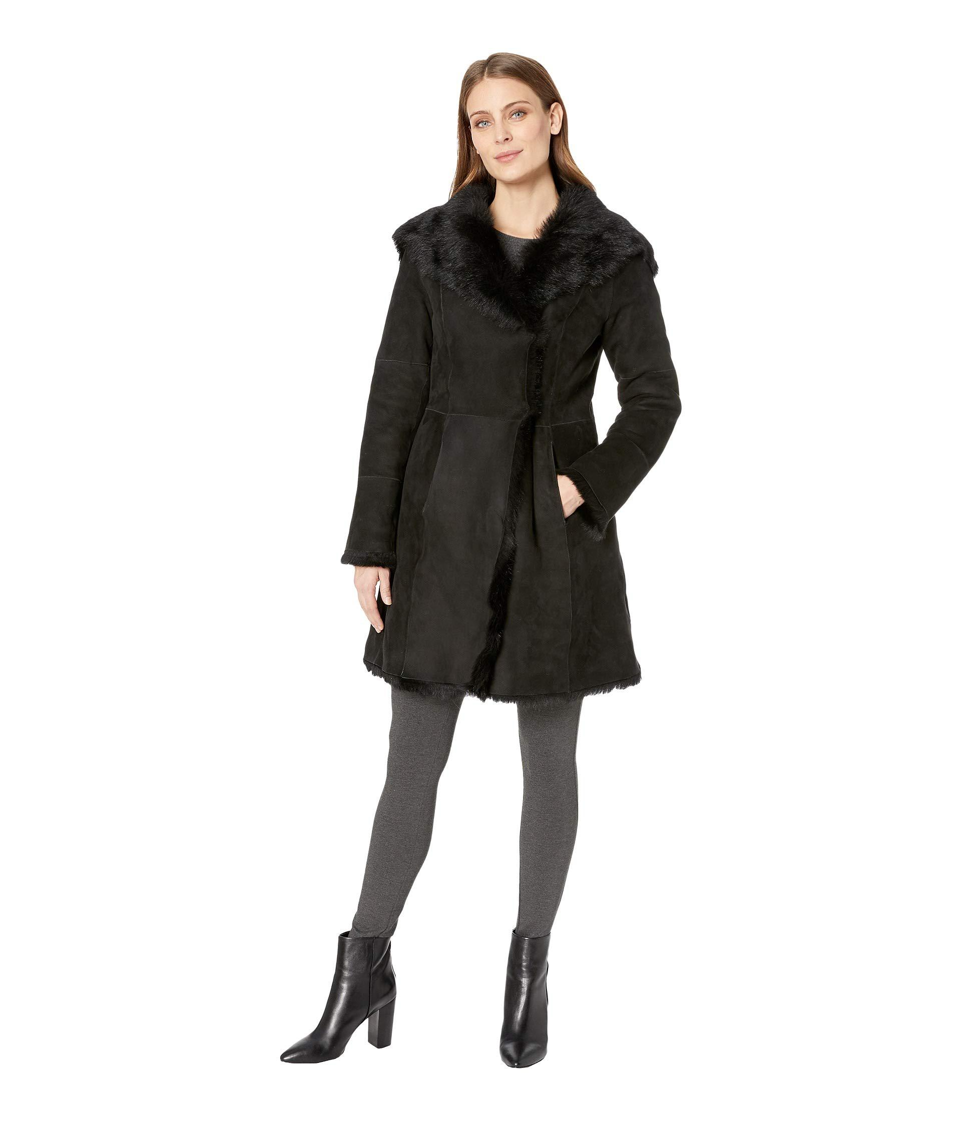 Lyst ugg vanesa toscana shearling coat chestnut womens coat jpg 1920x2240 Uggs  chestnut coat 02abb0edf