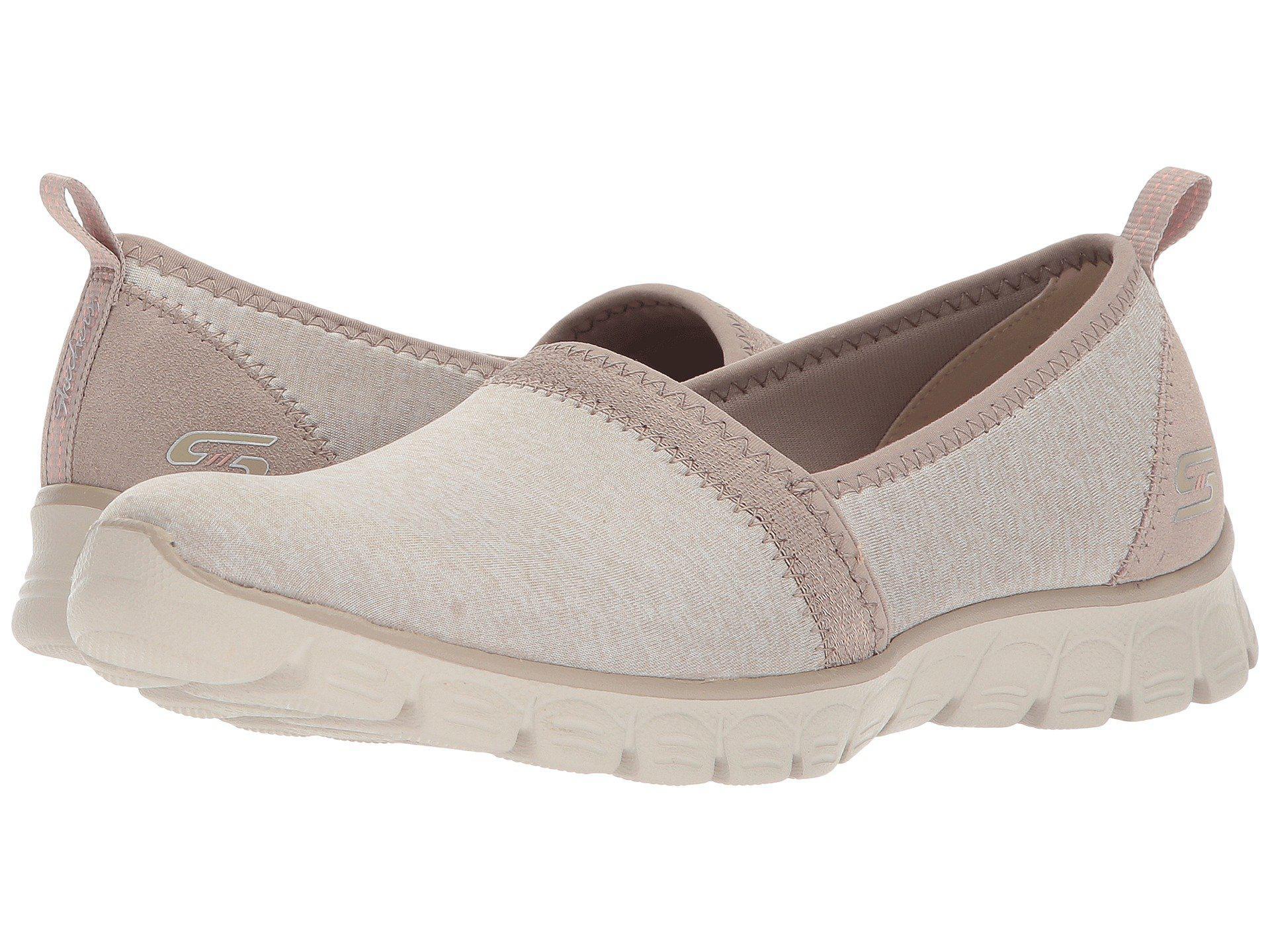 bf9c58a2dfb8 Lyst - Skechers Ez Flex 3.0 Swift Motion (taupe) Women s Slip On Shoes