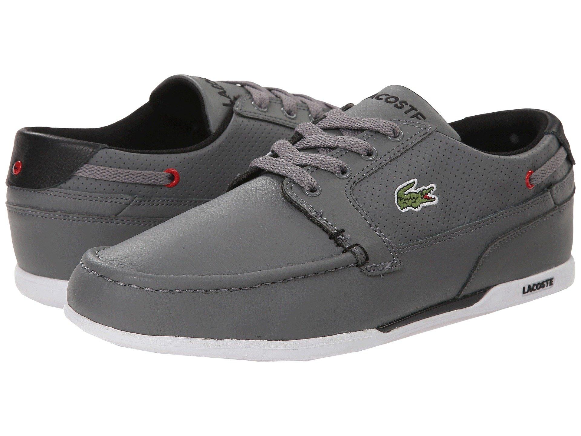 bb120f7fb816fd Lyst - Lacoste Dreyfus Qs1 (grey black) Men s Shoes in Gray for Men