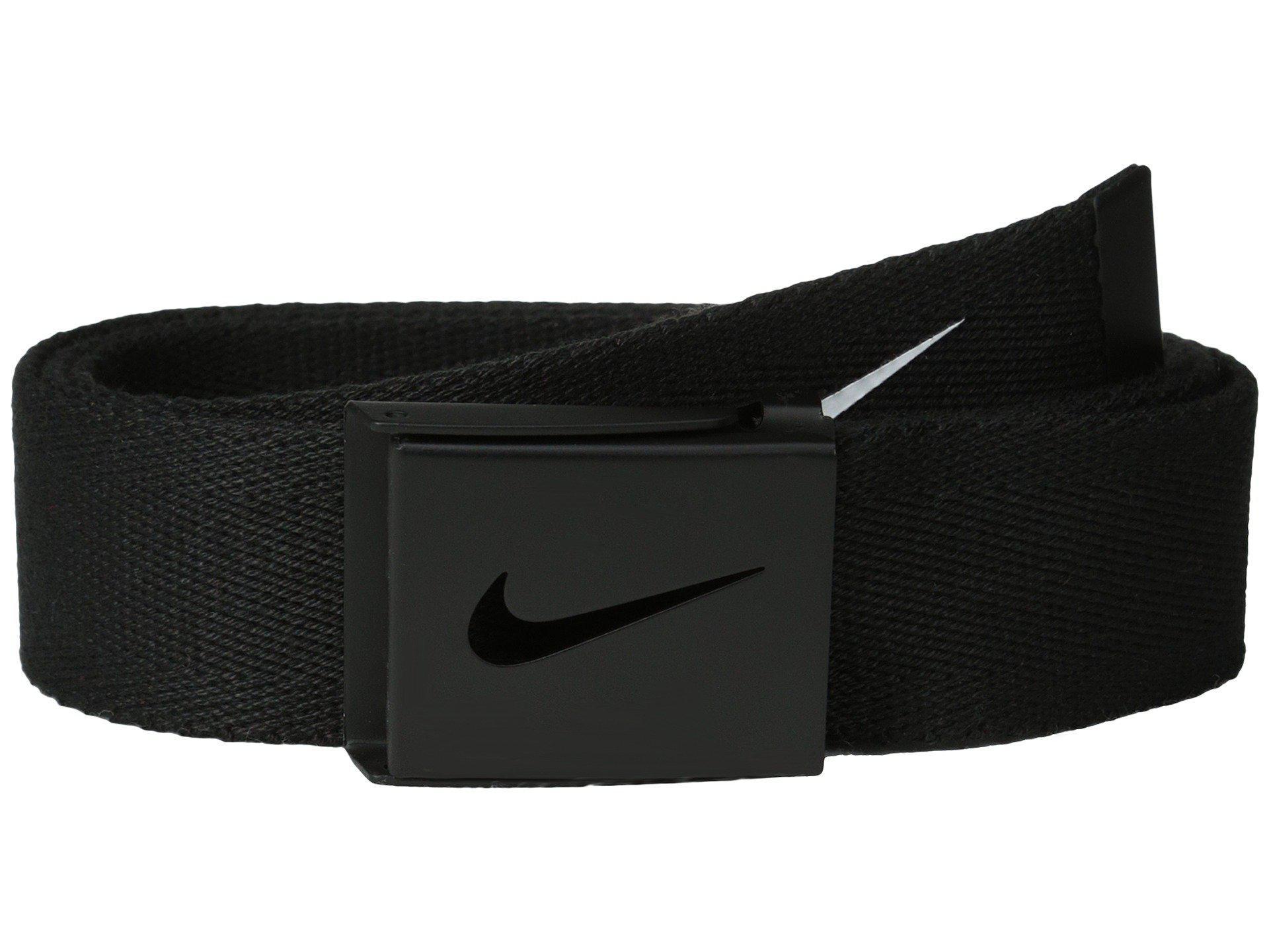 4e22a700e4 Nike Tech Essentials Single Web (white) Belts in Black - Lyst