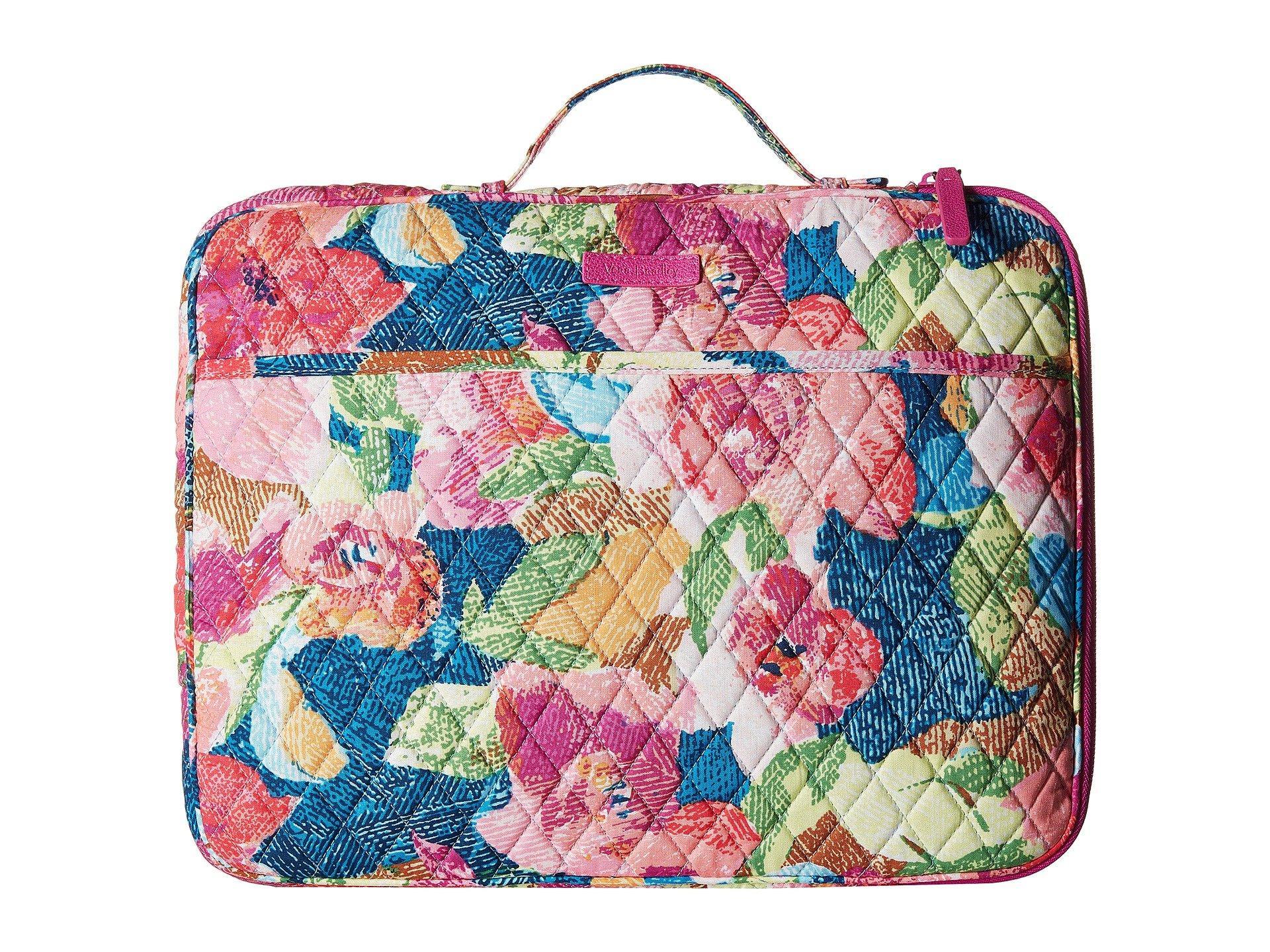 2bc59050ea0b Lyst - Vera Bradley Laptop Organizer (daisy Dot Paisley) Briefcase Bags