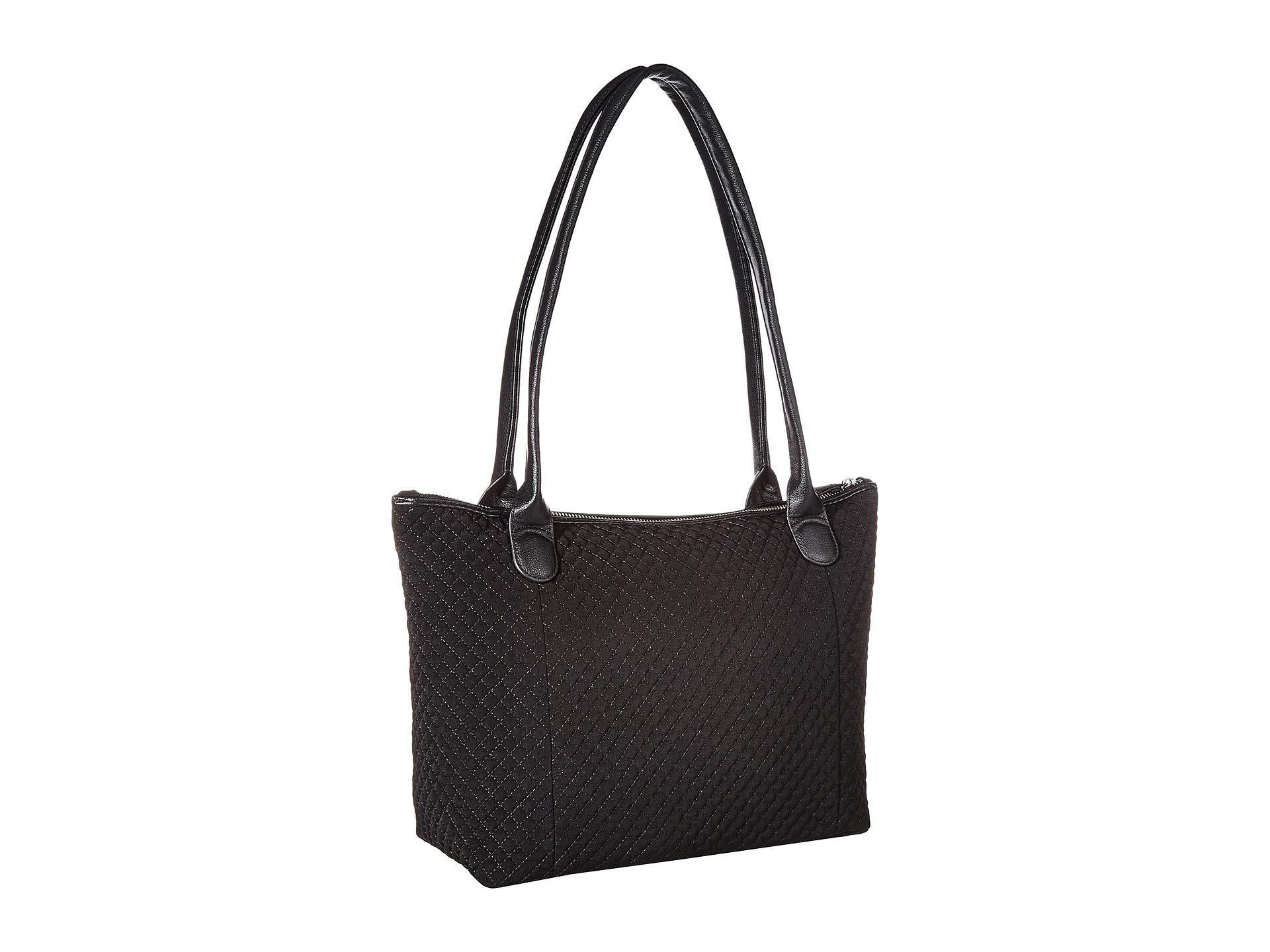 9b5d57ff30ef Vera Bradley - Black Carson East west Tote (daisy Dot Paisley) Tote Handbags.  View fullscreen