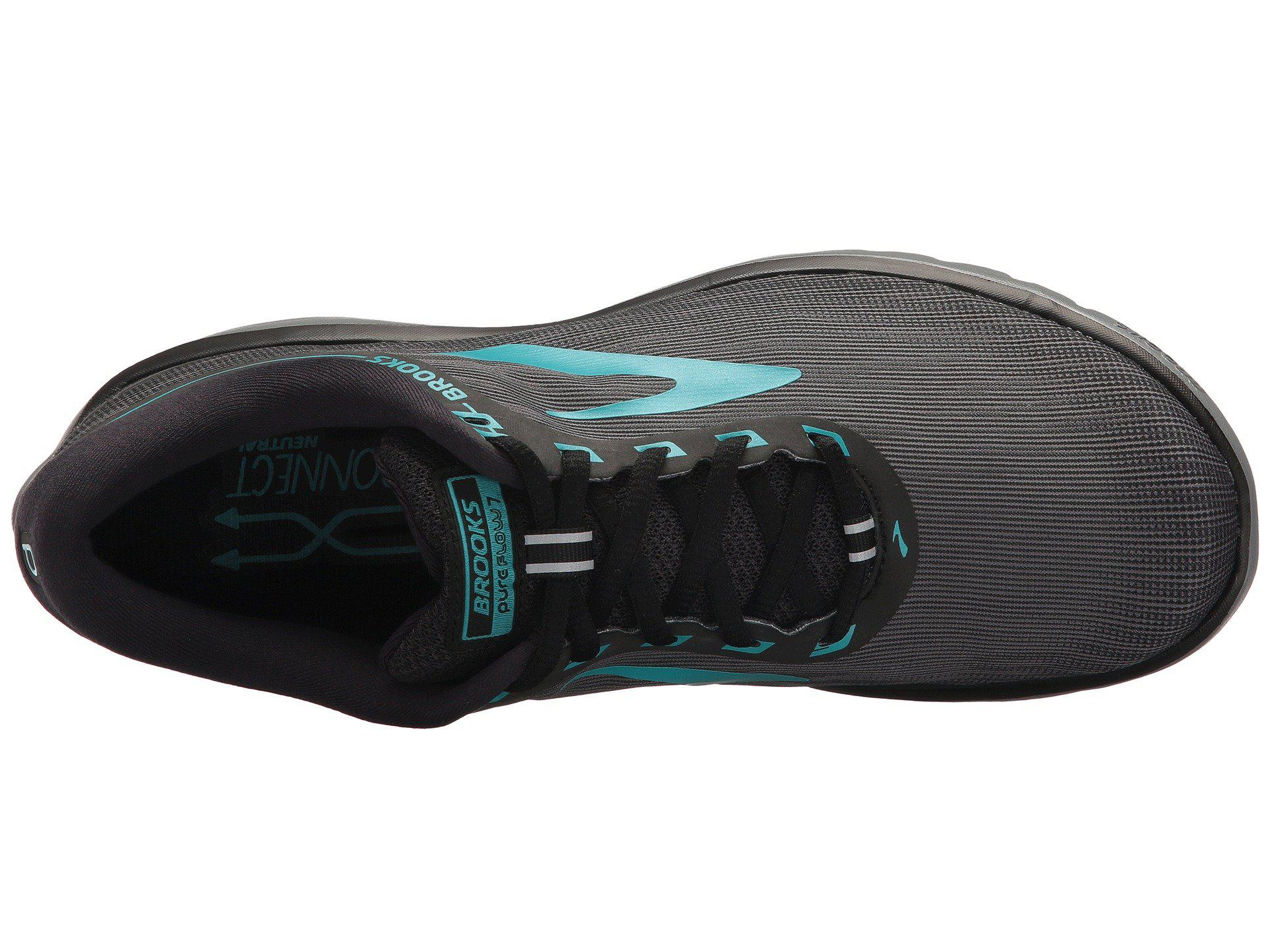 107e022b963 Brooks - Multicolor Pureflow 7 (grey black green) Women s Running Shoes -.  View fullscreen