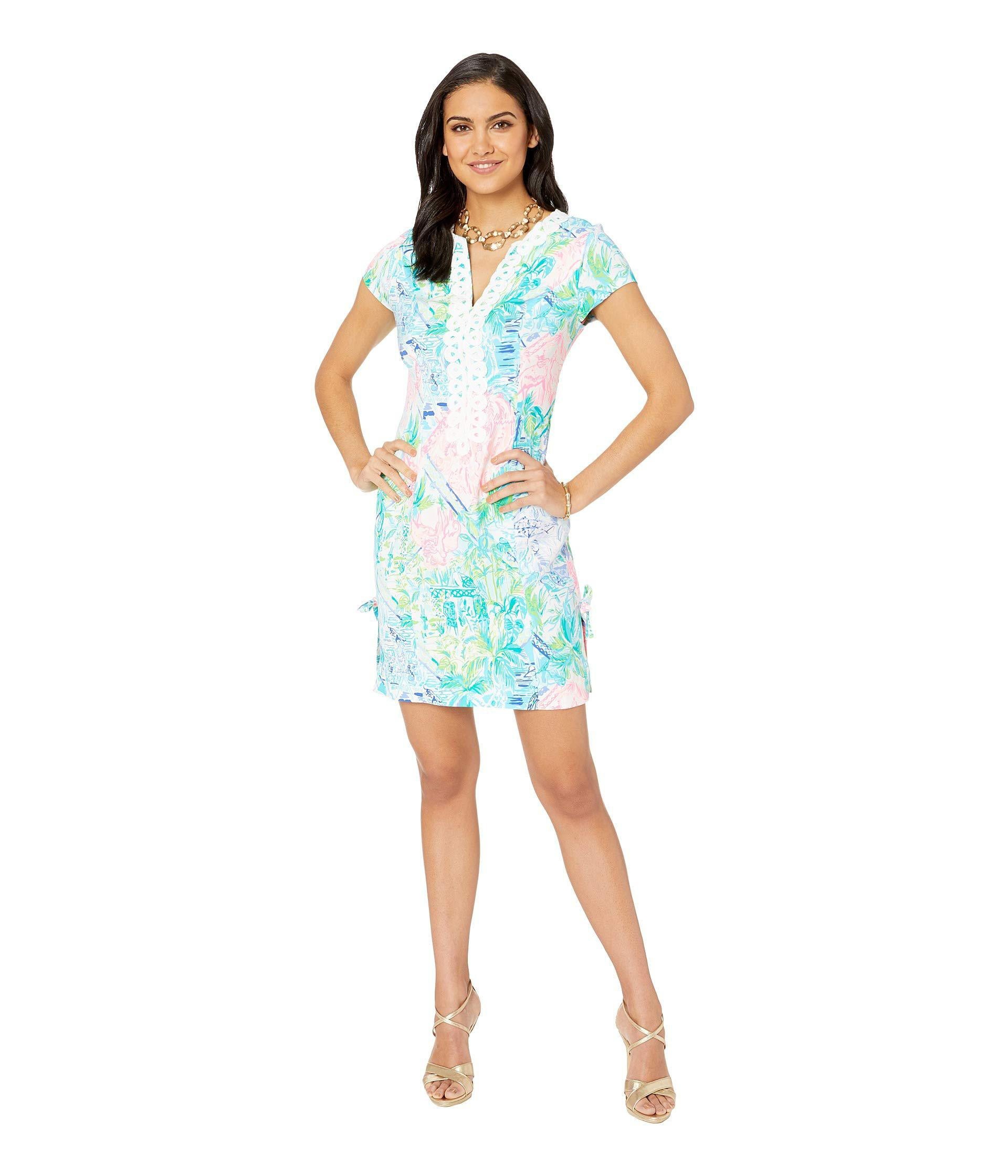 a898a6fb984 Lilly Pulitzer Casidy Stretch Shift Dress (multi Bohemian Queen ...