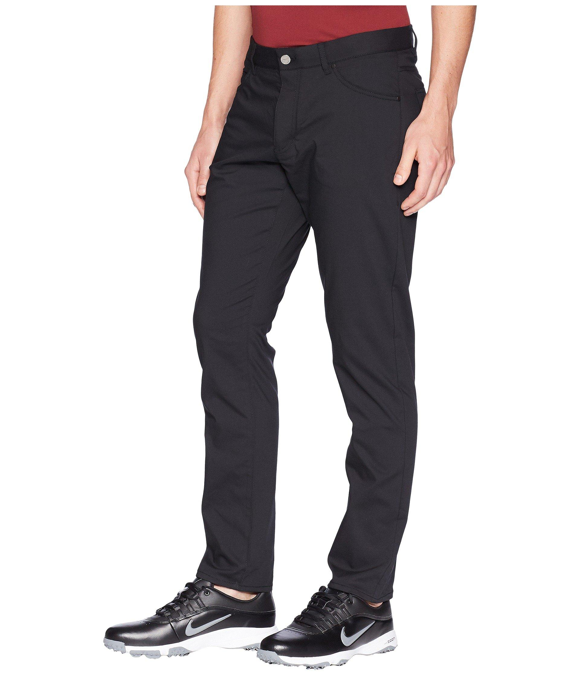 purchase cheap 4db71 1a7f3 Lyst - Nike Flex Five-pocket Pants (gridiron wolf Grey) Men s Casual Pants  in Black for Men