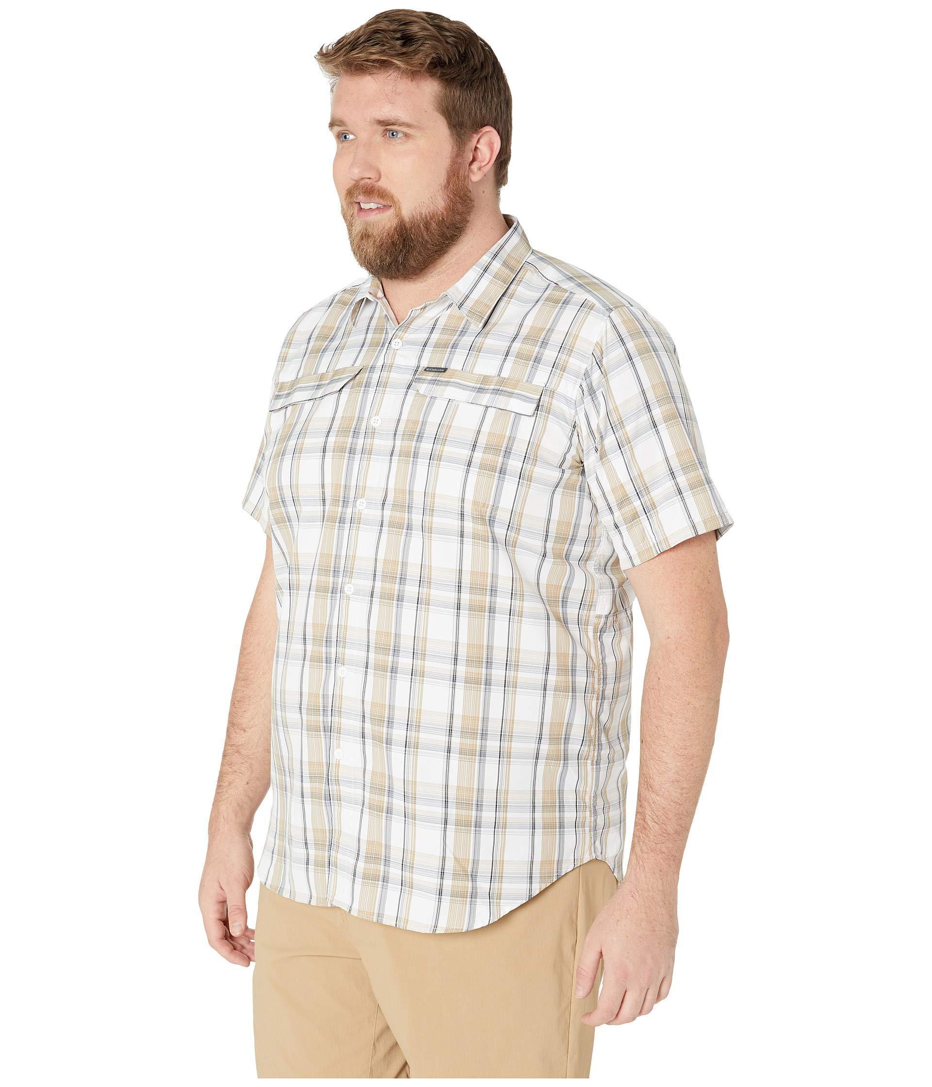 e9dbf8131f4 Lyst - Columbia Big And Tall Silver Ridge 2.0 Multi Plaid Short Sleeve Shirt  (beach Plaid) Men's Short Sleeve Button Up for Men