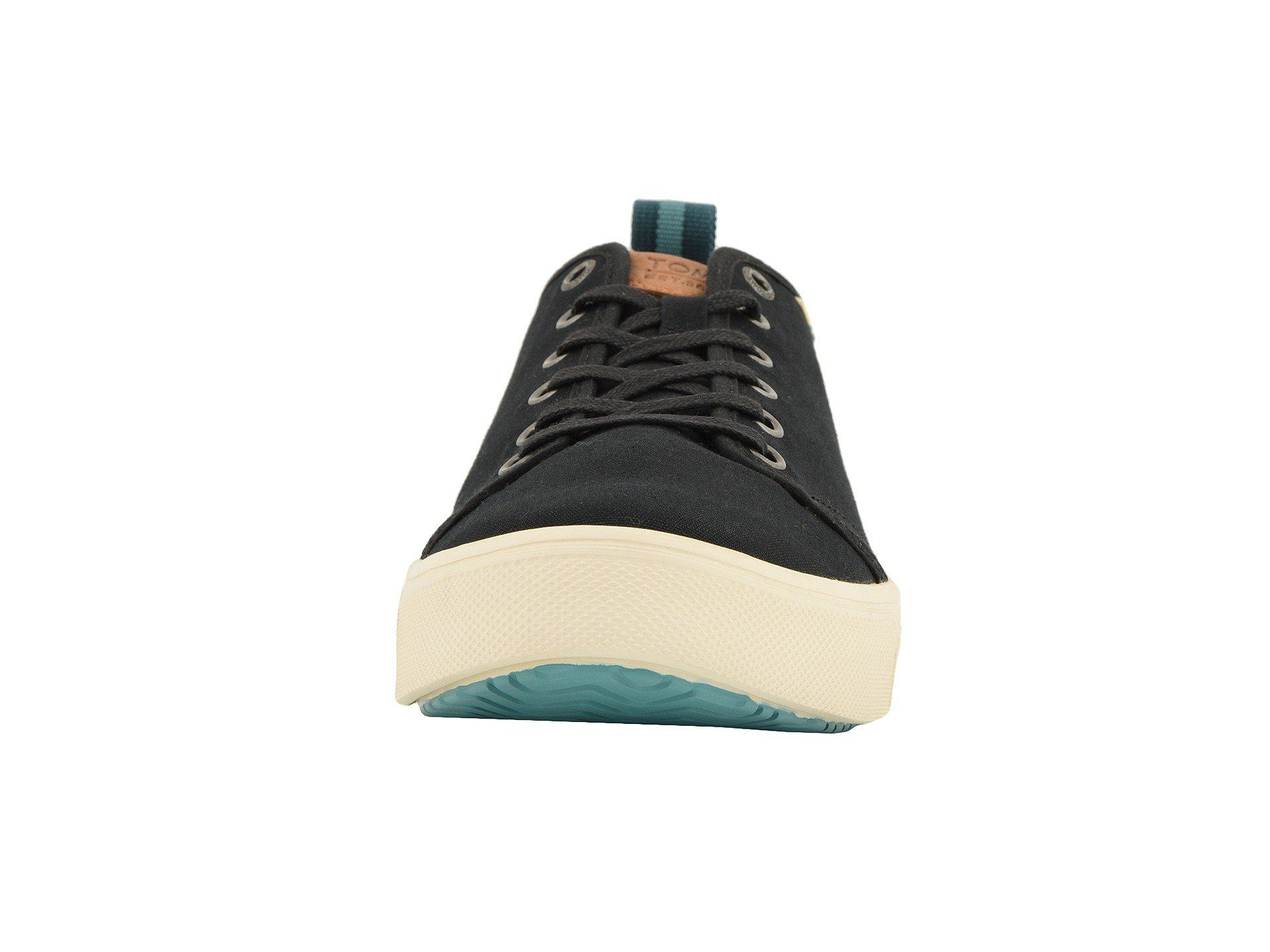 9a438d0bf92 TOMS - Black Trvl Lite Low (navy Melange Knit) Men s Lace Up Casual Shoes.  View fullscreen