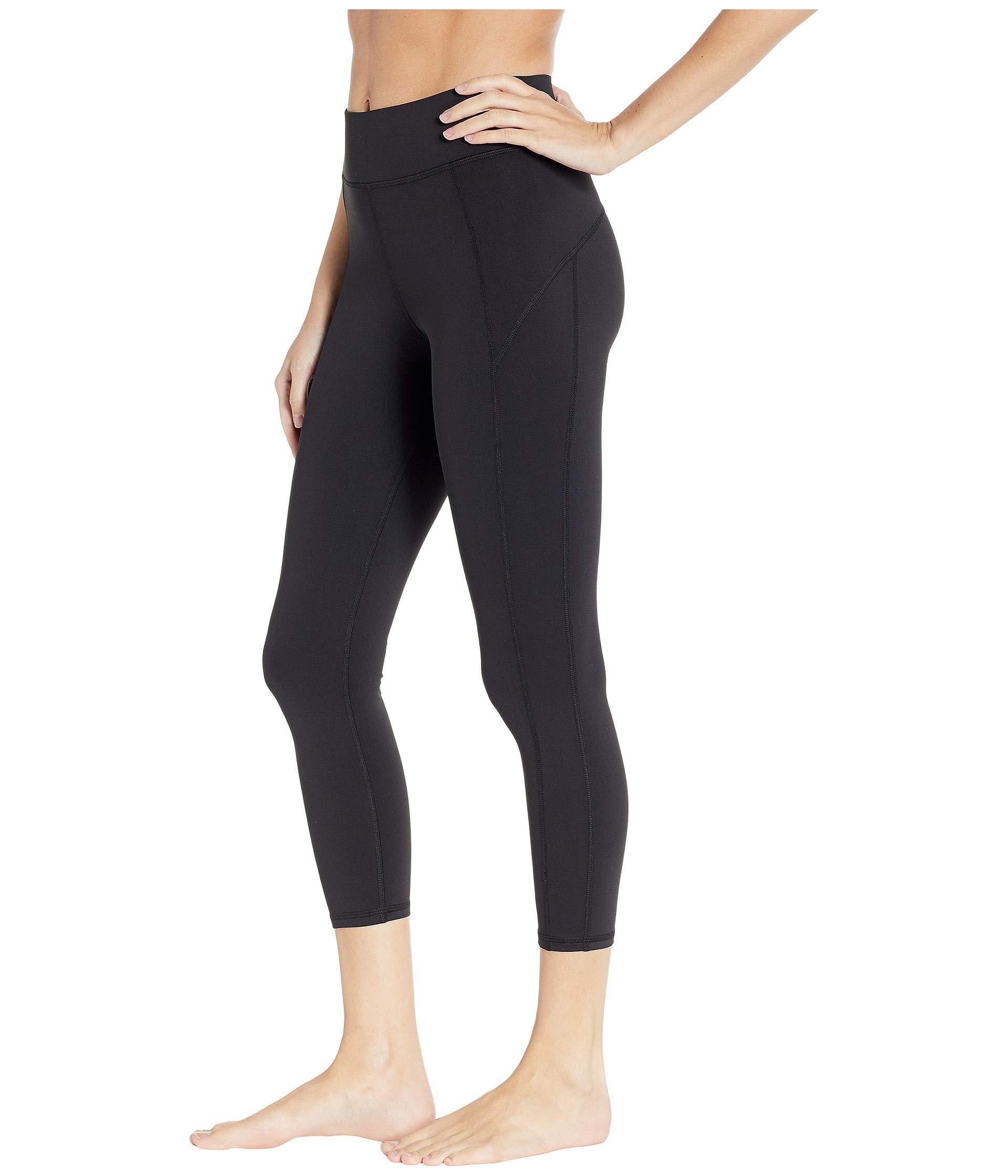 7d20834e6a Lyst - Michi Lotus Crop Leggings (black) Women's Casual Pants in Black