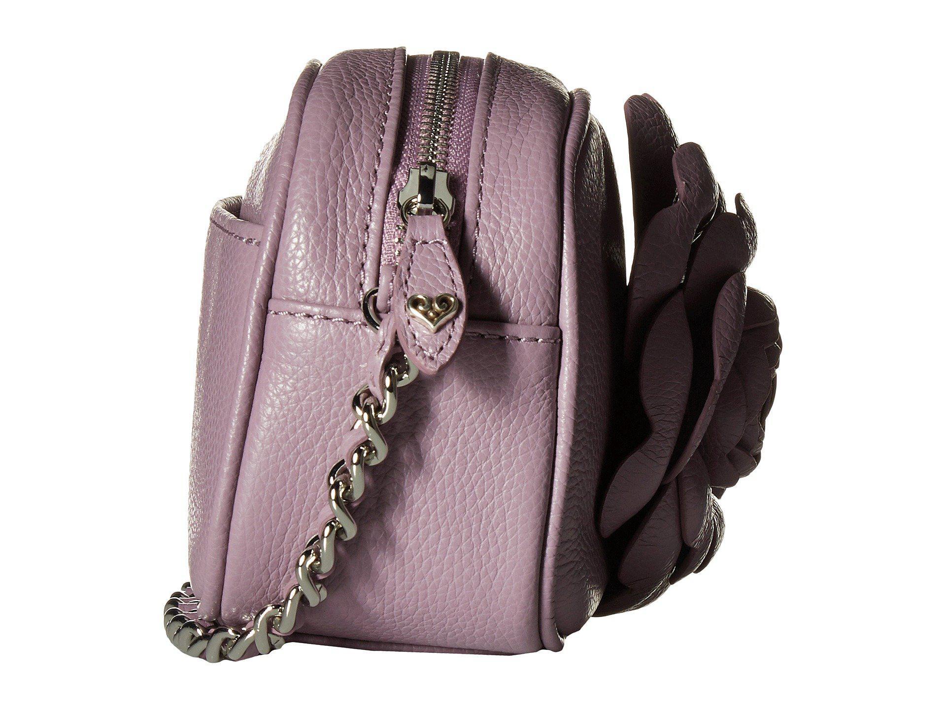 Lyst - Brighton Rosie Mini Camera Bag in Purple fe42261c33
