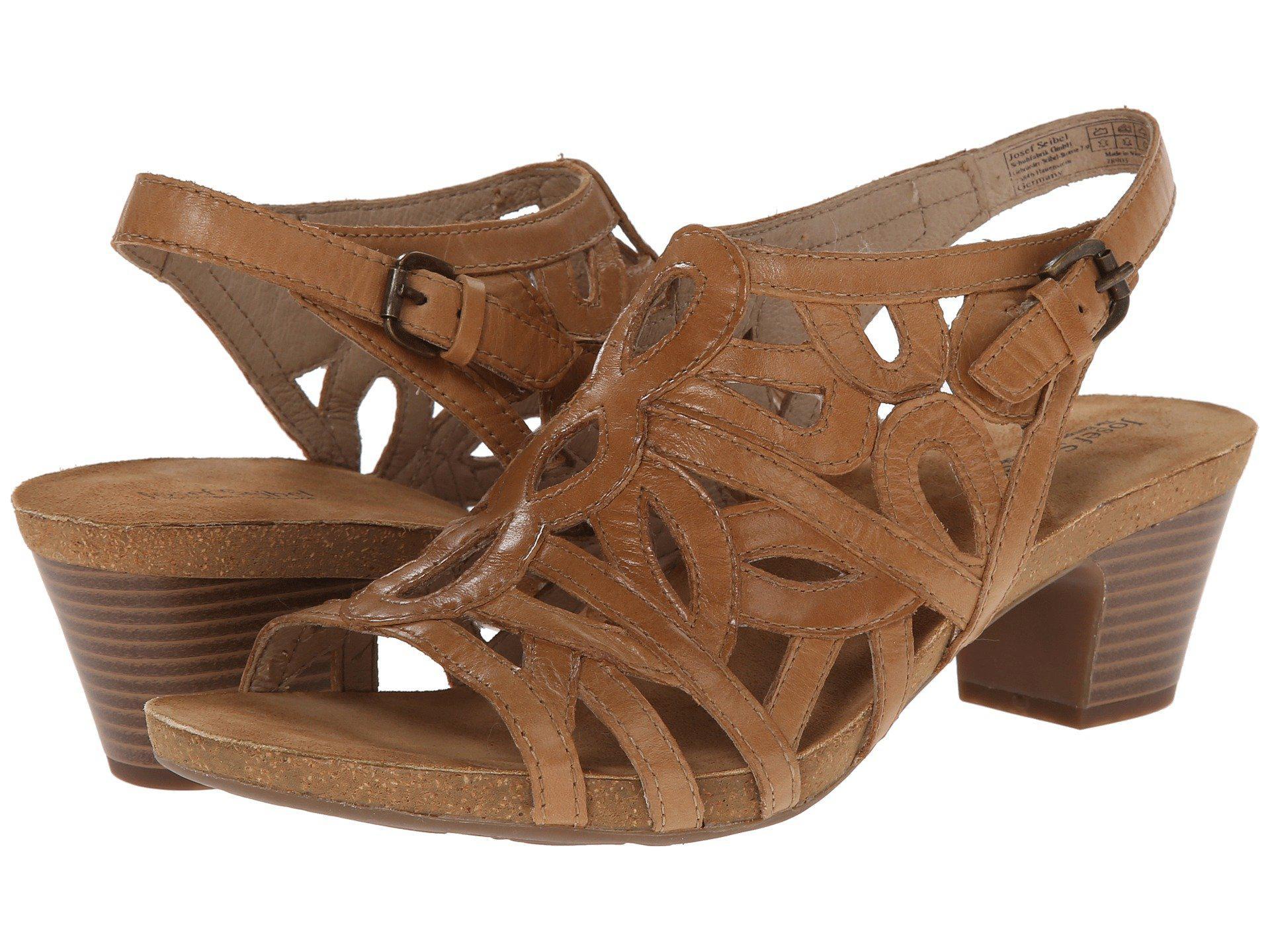 460717e81afd Lyst - Josef Seibel Ruth 03 (camel Equipe) Women's Dress Sandals in ...
