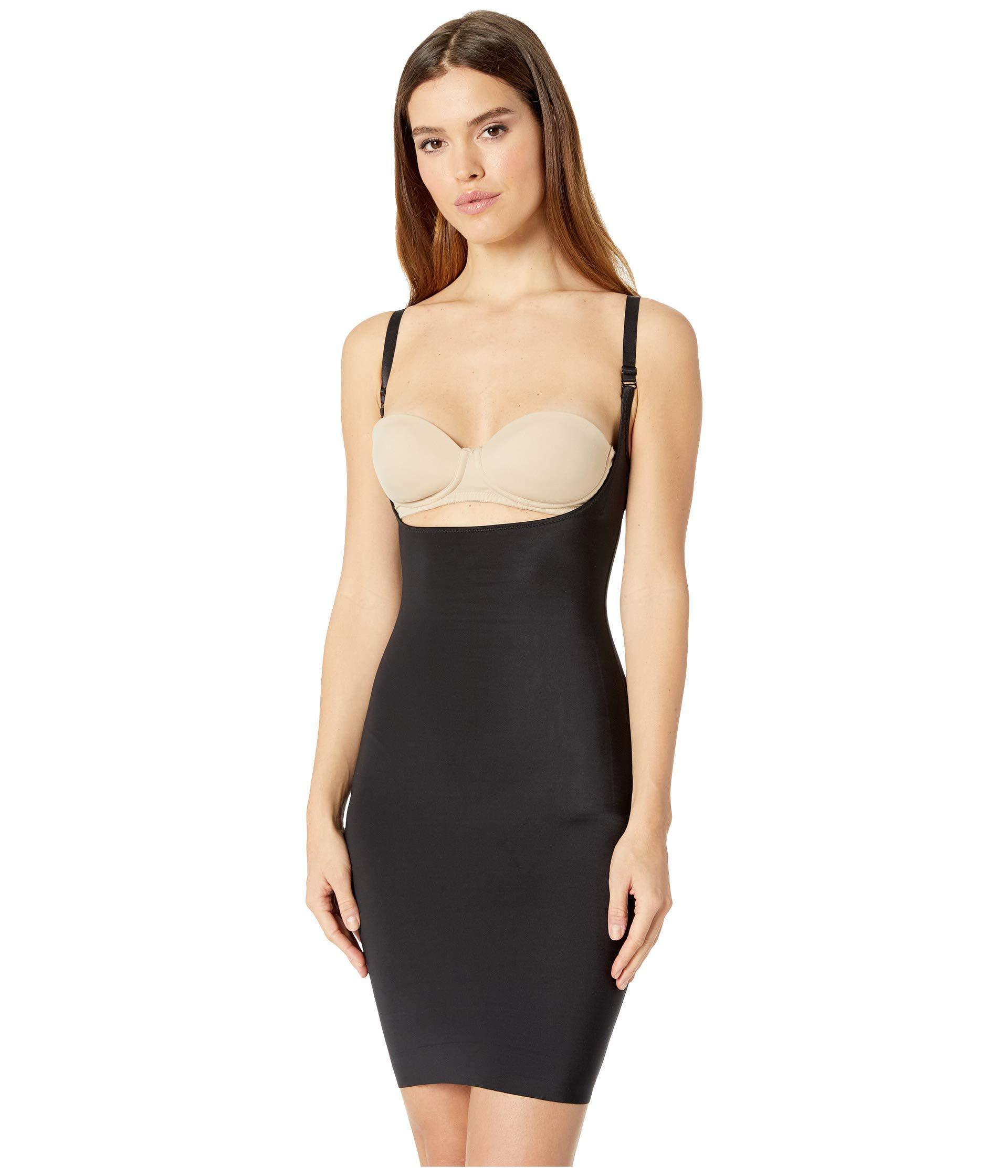 9785495dae Magic Bodyfashion. Black Luxury Full Shapewear Slip Dress (latte) Women s  Underwear