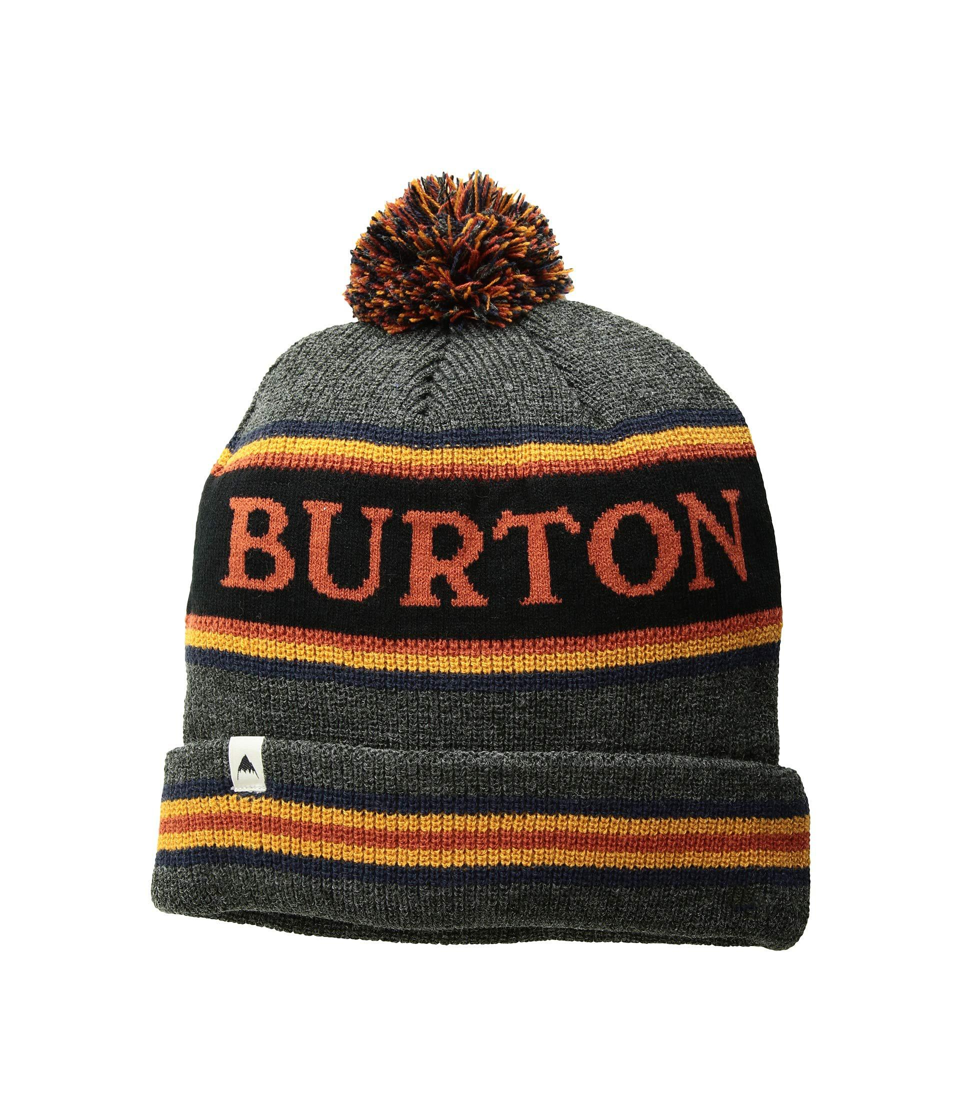 e116f42c7d36 Lyst - Burton Trope Beanie (true Black Sunset) Beanies for Men