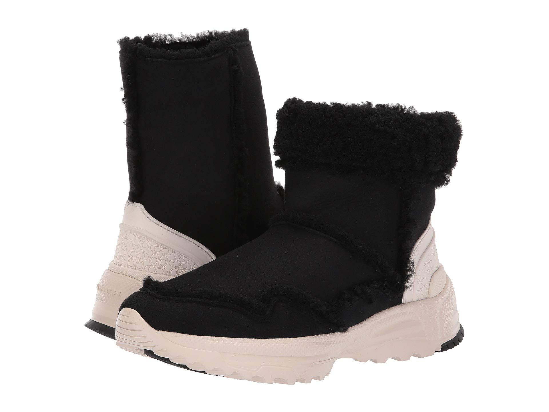 ed0cd74056ba Lyst coach portia cold weather bootie pink womens boots jpg 1920x1440  Zappos coach boots