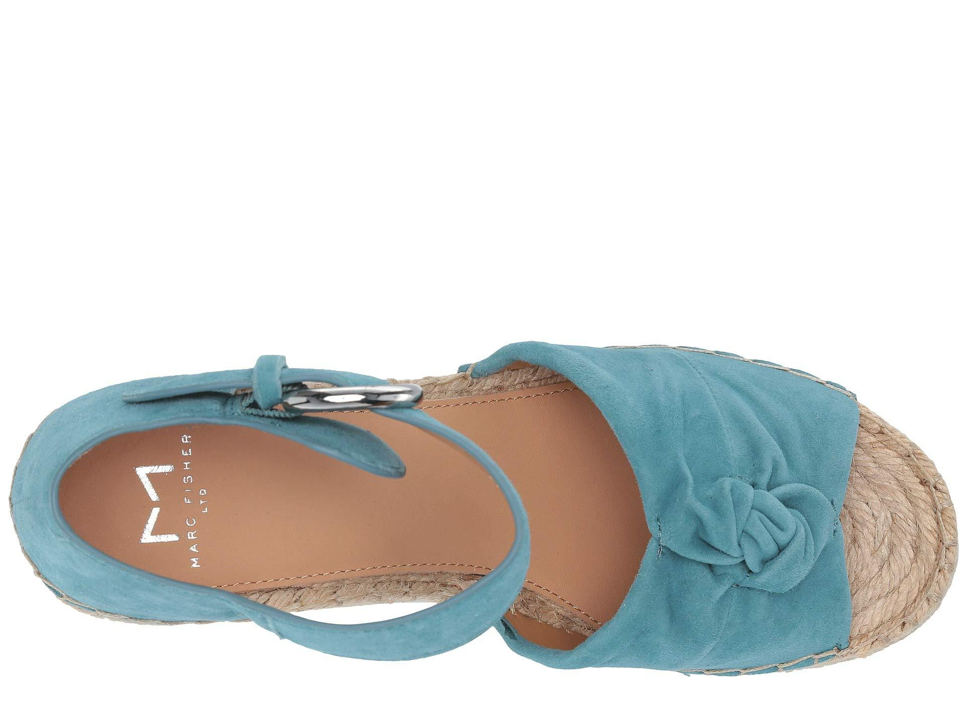 bbf2493fe91 Lyst - Marc Fisher Anty (medium Blue Suede) Women's Shoes in Blue