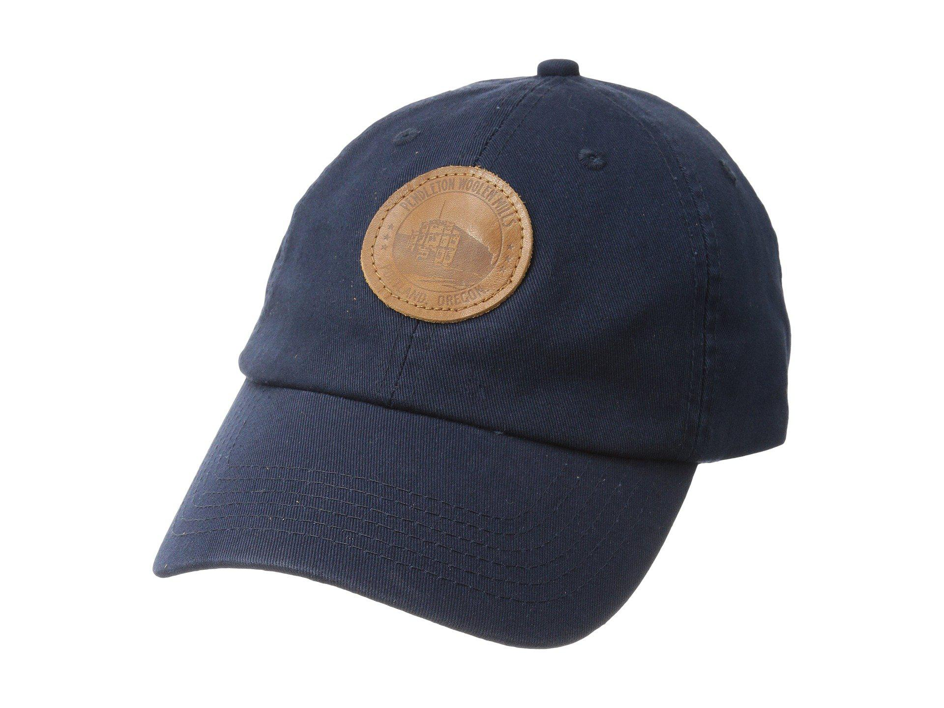 Lyst - Pendleton Cotton Hat With Mill Patch (navy) Caps in Blue for Men f16819d17364