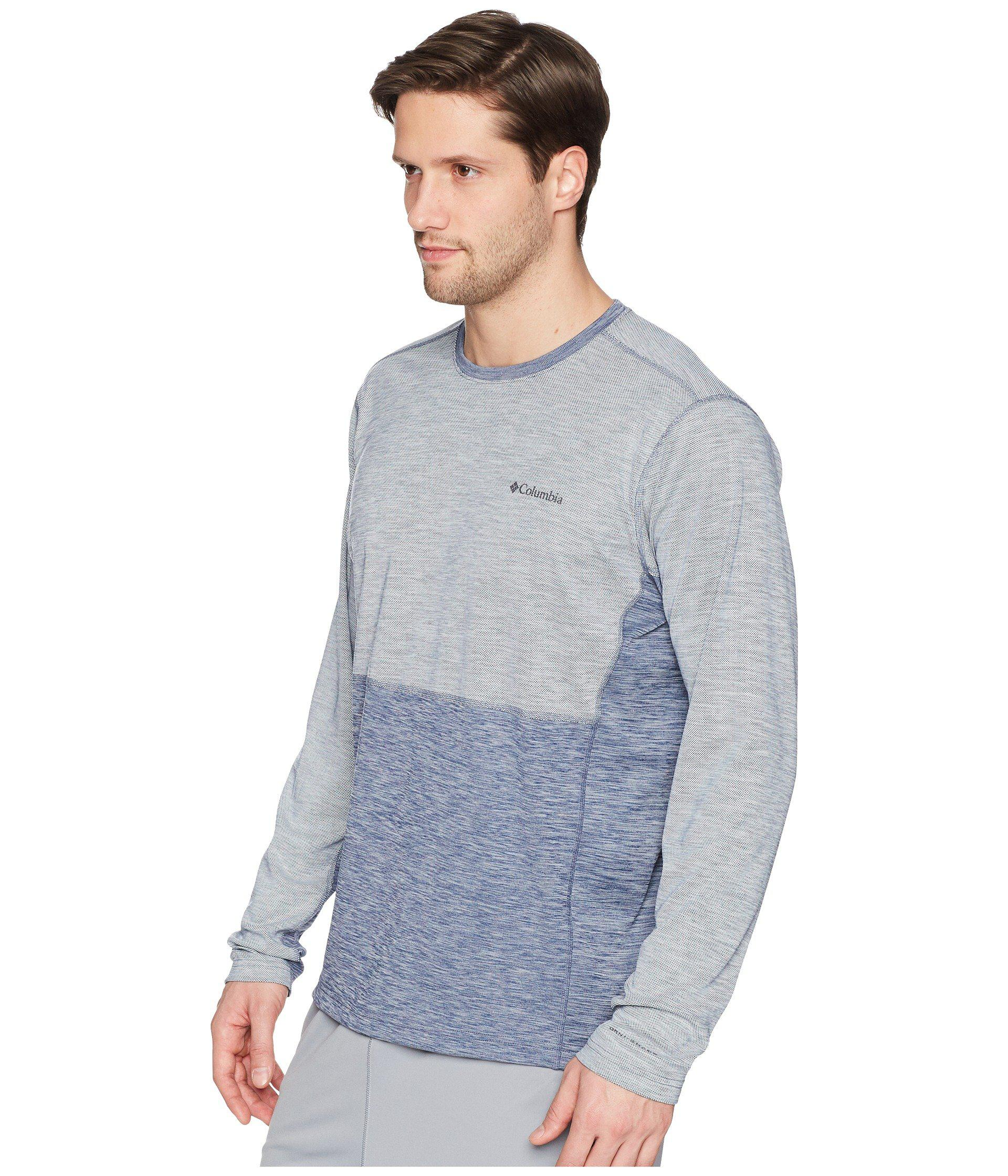 ab04d8144a8 Columbia Solar Chill Long Sleeve Top (carbon) Men's Long Sleeve ...
