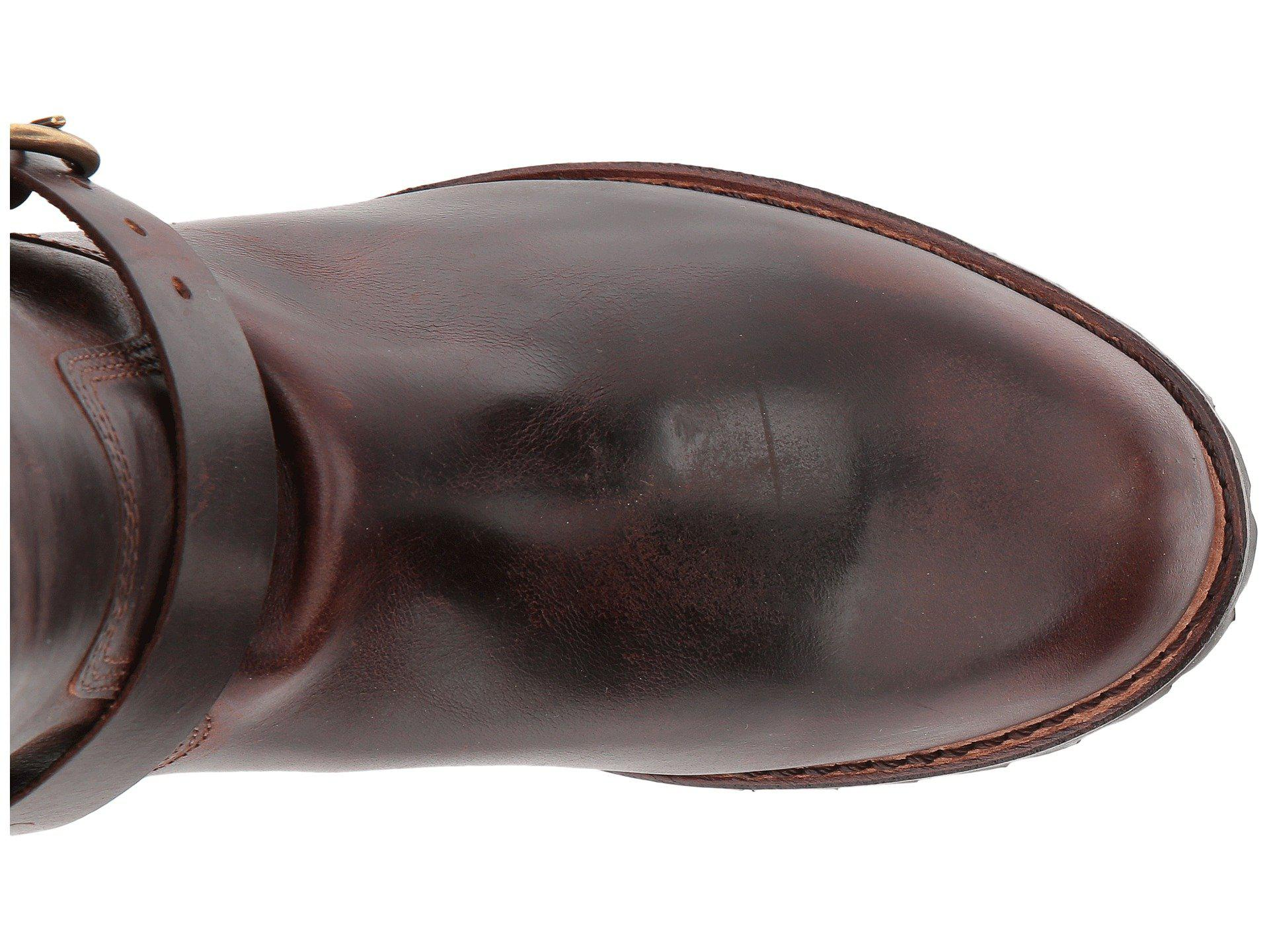 1398786d966 Frye - Addison Lug Engineer (dark Brown Smooth Pull Up) Men s Pull-on. View  fullscreen