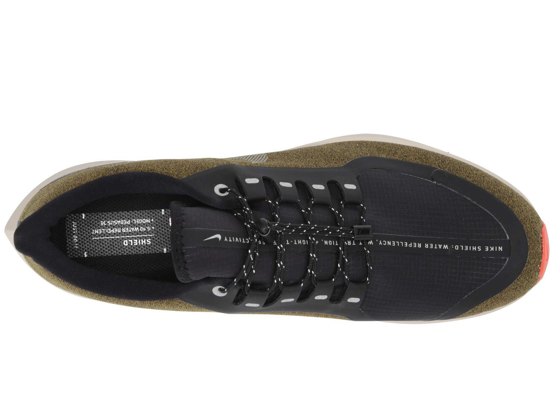 287eff1b8d9c Nike - Air Zoom Pegasus 35 Shield (black metallic Silver blue Void). View  fullscreen