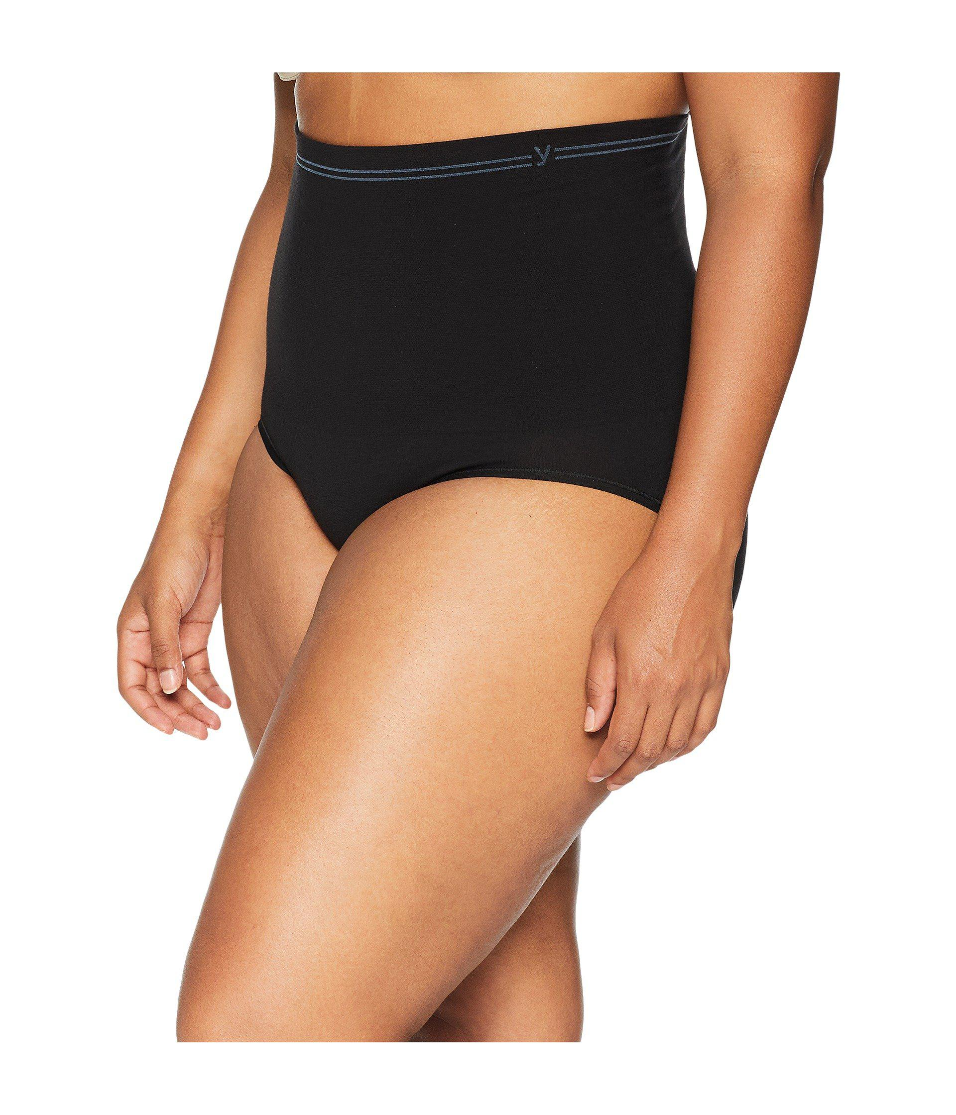 dc92e4115cd5 Lyst - Yummie Plus Size Cotton Seamless Brief (black) Women's Underwear in  Black