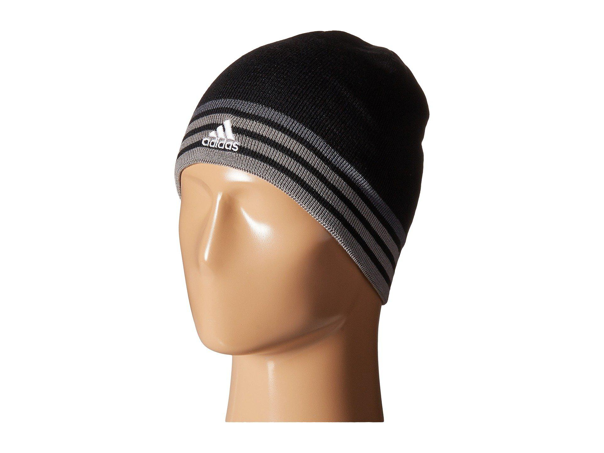 425094b710a Lyst - adidas Eclipse Reversible Beanie in Black for Men