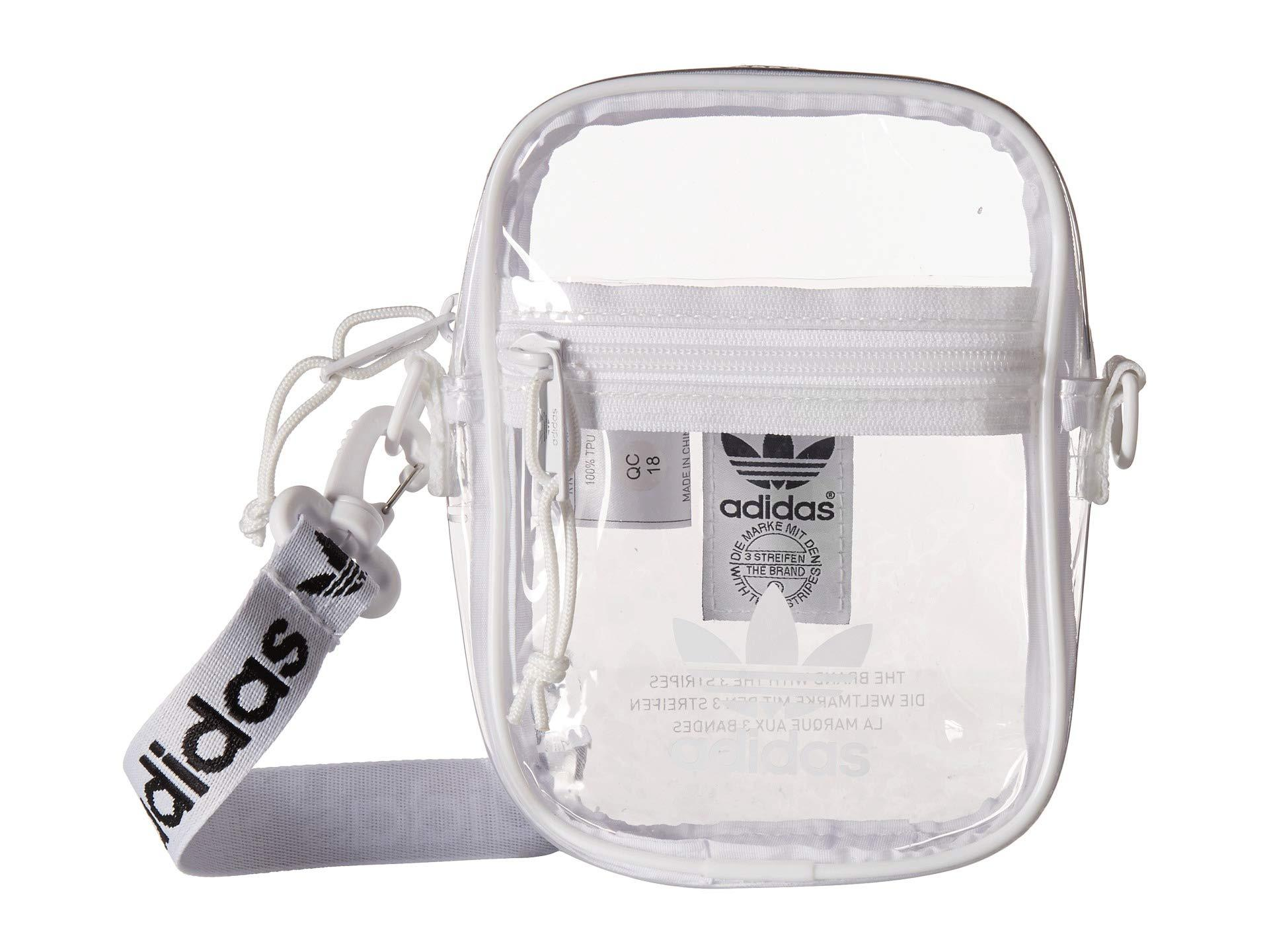 05ebcc6b3 adidas Originals Originals Clear Festival Crossbody in White - Lyst