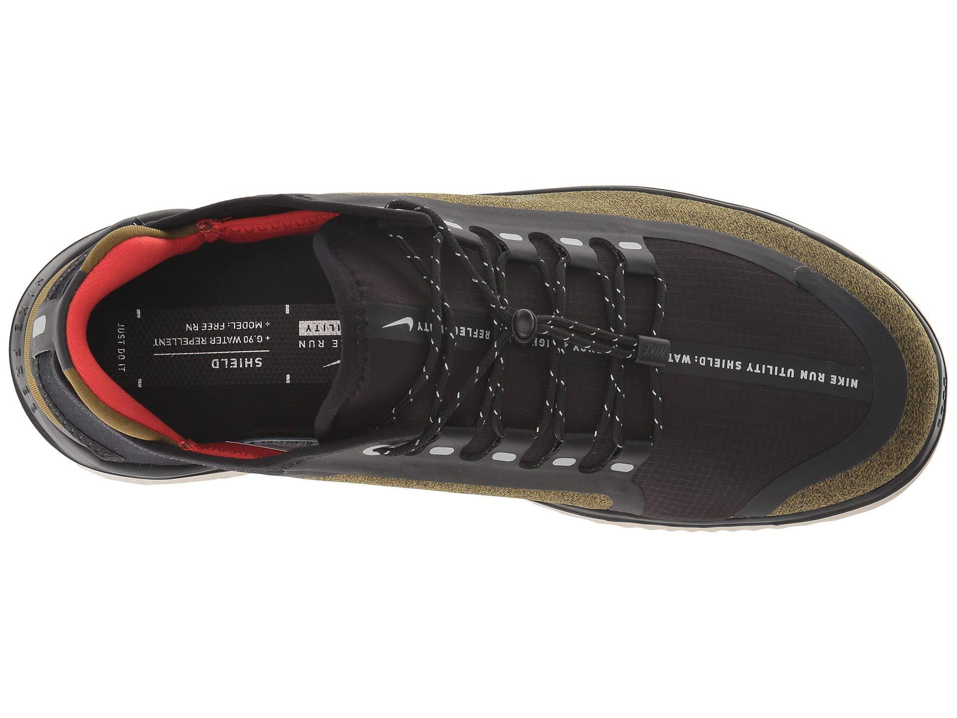 f02ae8f9ba47a Lyst - Nike Free Rn 2018 Shield (olive Flak metallic Silver black ...