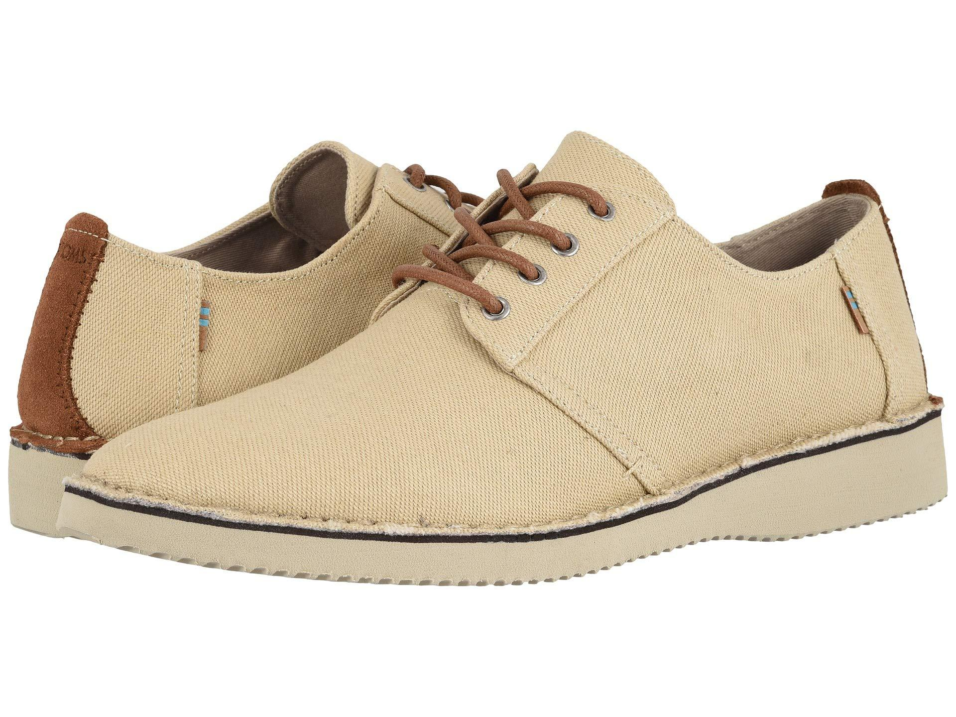 eb581e17b77 Lyst - TOMS Preston (navy Linen) Men s Lace Up Casual Shoes in ...