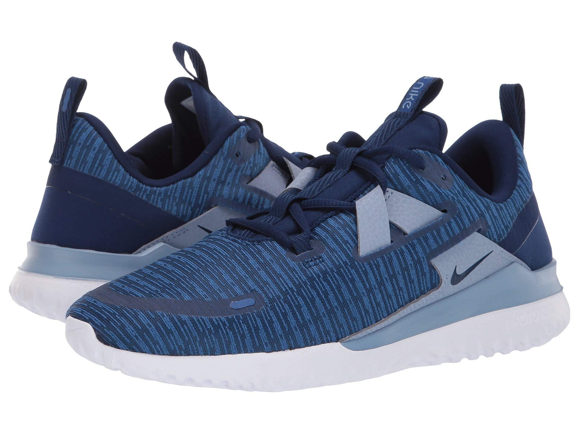 cheap for discount 9260f c7100 Nike. Blue Renew Arena (blackanthracite) Mens Running Shoes