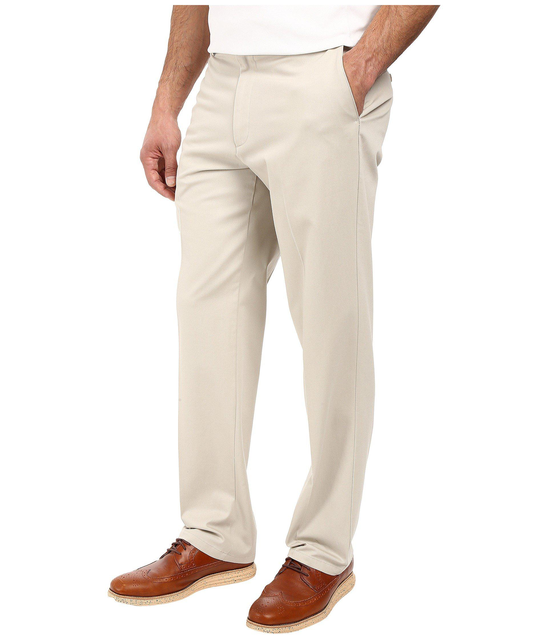 c7faf3d8194e9d Lyst - Dockers Signature Khaki D3 Classic Fit Flat Front (black) Men's  Casual Pants in Natural for Men