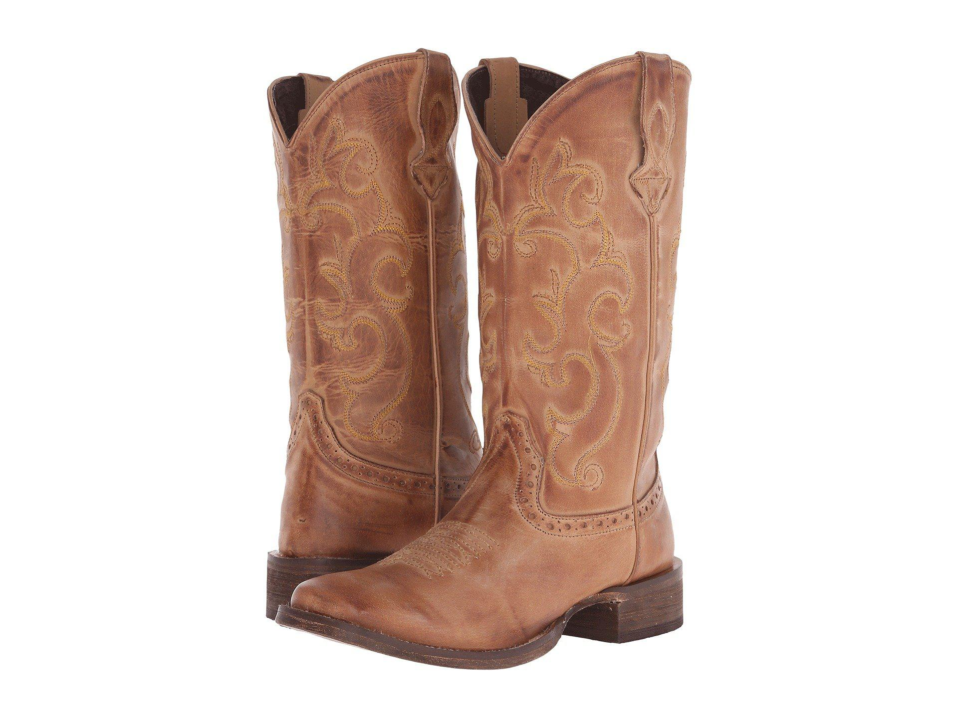 750b7efa41f59 Lyst - Roper Classic Cowgirl (brown) Cowboy Boots in Brown