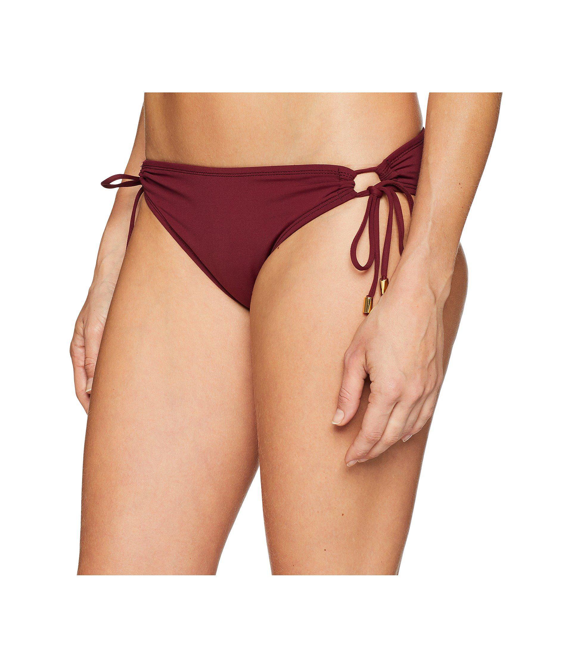 de1b5b27f54f3 Lyst - La Blanca Island Goddess Adjustable Loop Hipster Pant Bottom (black)  Women s Swimwear