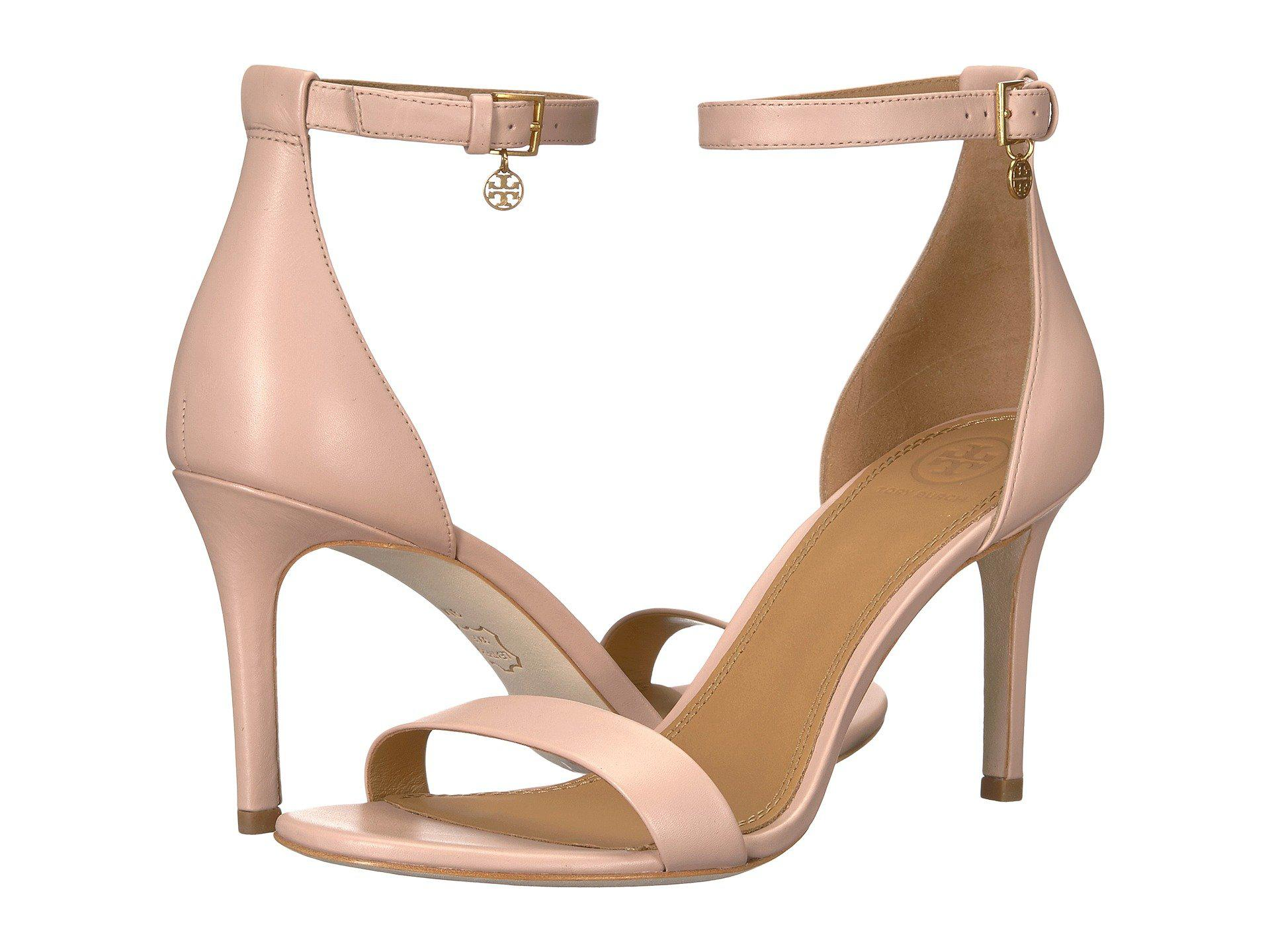 2a47c621ea0 Lyst - Tory Burch Ellie 85 Pink Sandals in Pink - Save 32%