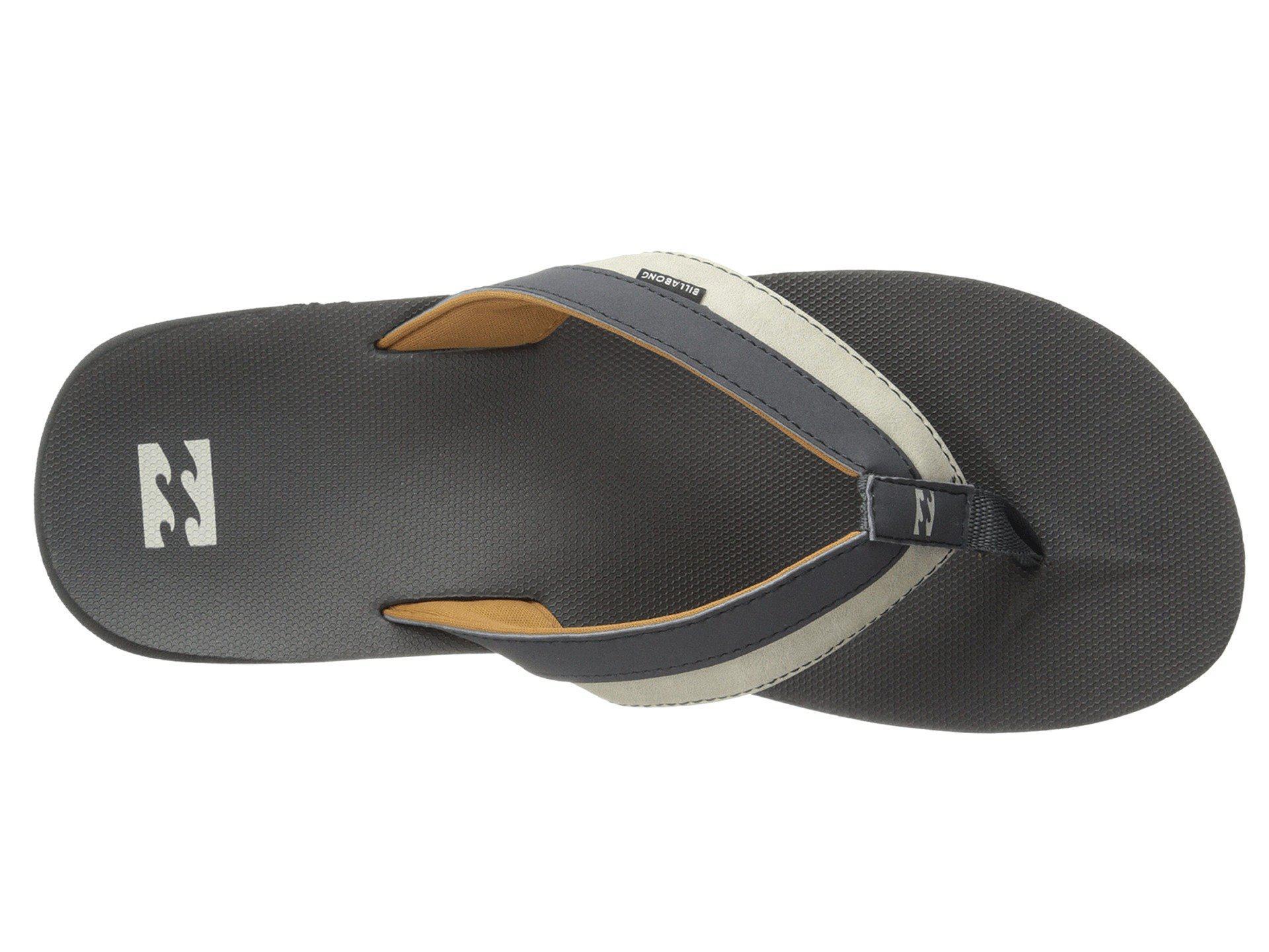 92946a0fb Billabong - Gray All Day Impact Sandal (black) Men s Sandals for Men -  Lyst. View fullscreen