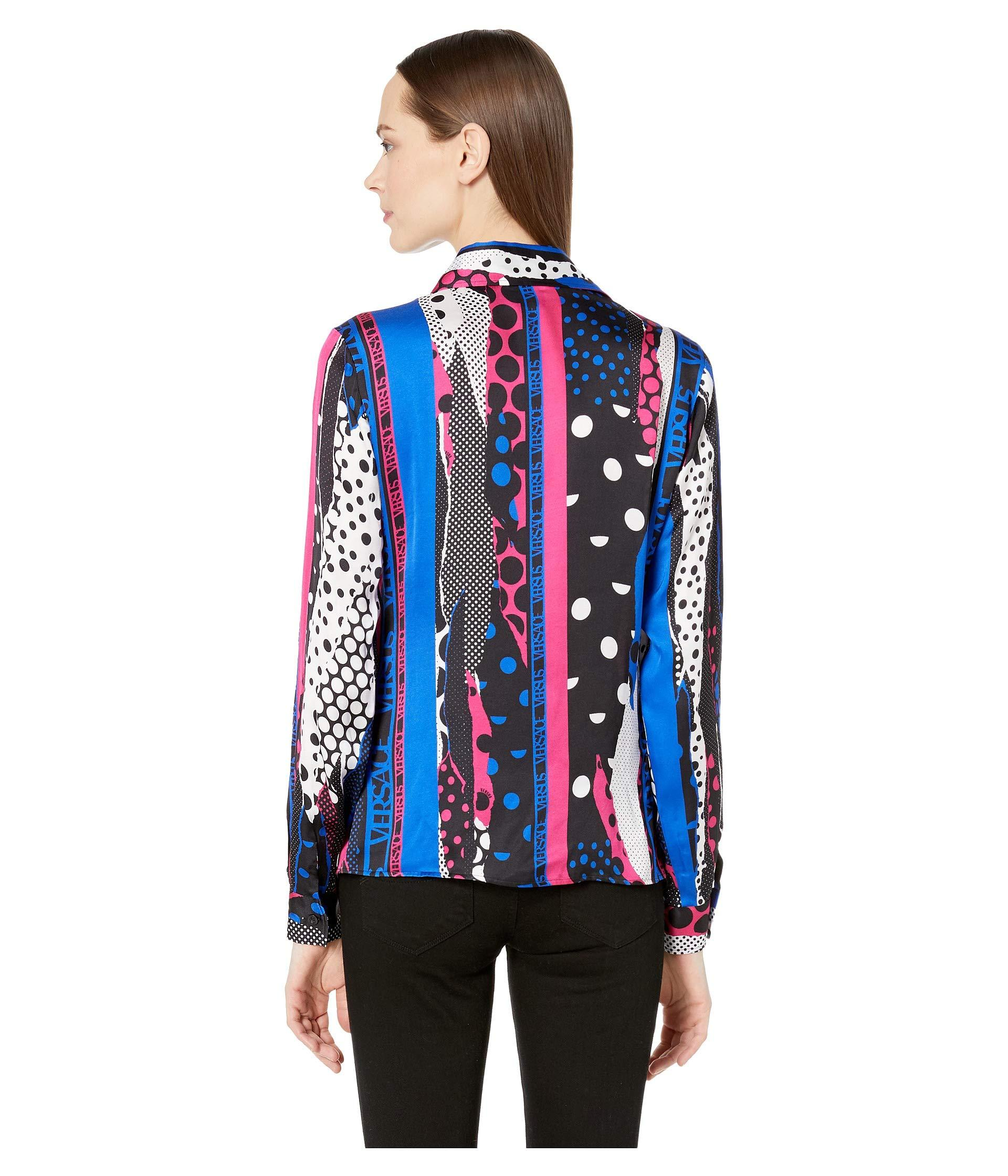 83dc5164 ... Abstract Print Shirt (multicolor) Women's Clothing - Lyst. View  fullscreen