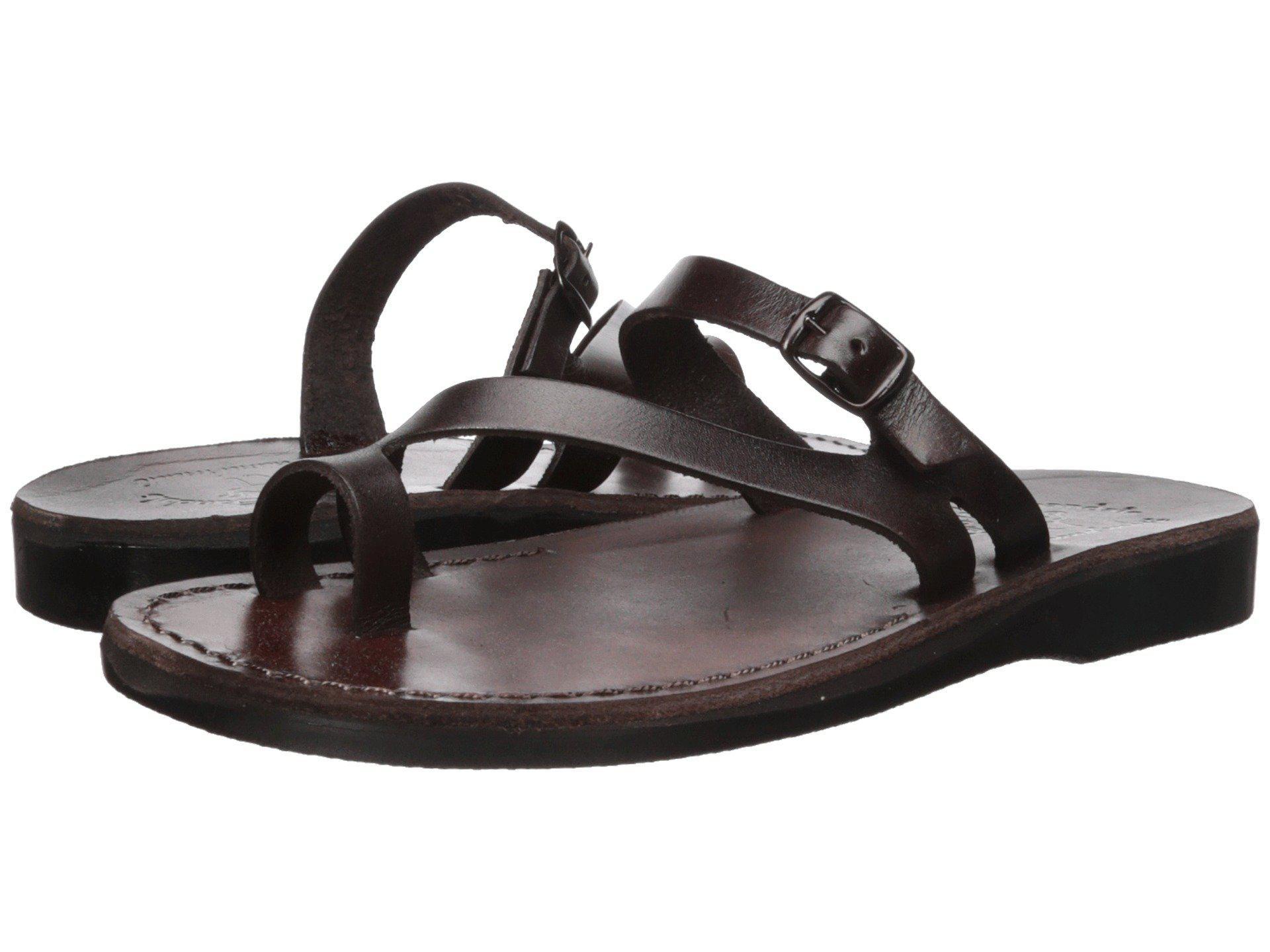 c9360ebf0f969 Lyst - Jerusalem Sandals Nuri (black) Women s Sandals in Brown