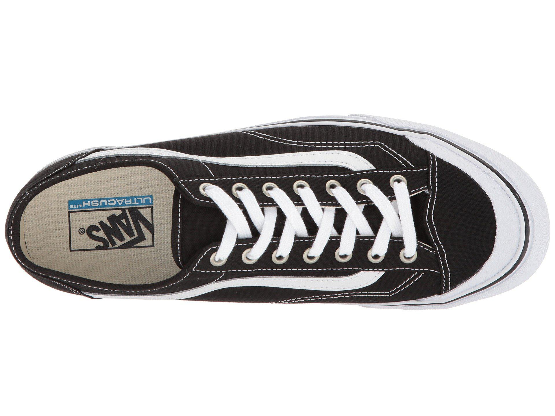 Lyst - Vans Style 36 Decon Sf (black white) Men s Skate Shoes in ... 5bbd7ca24