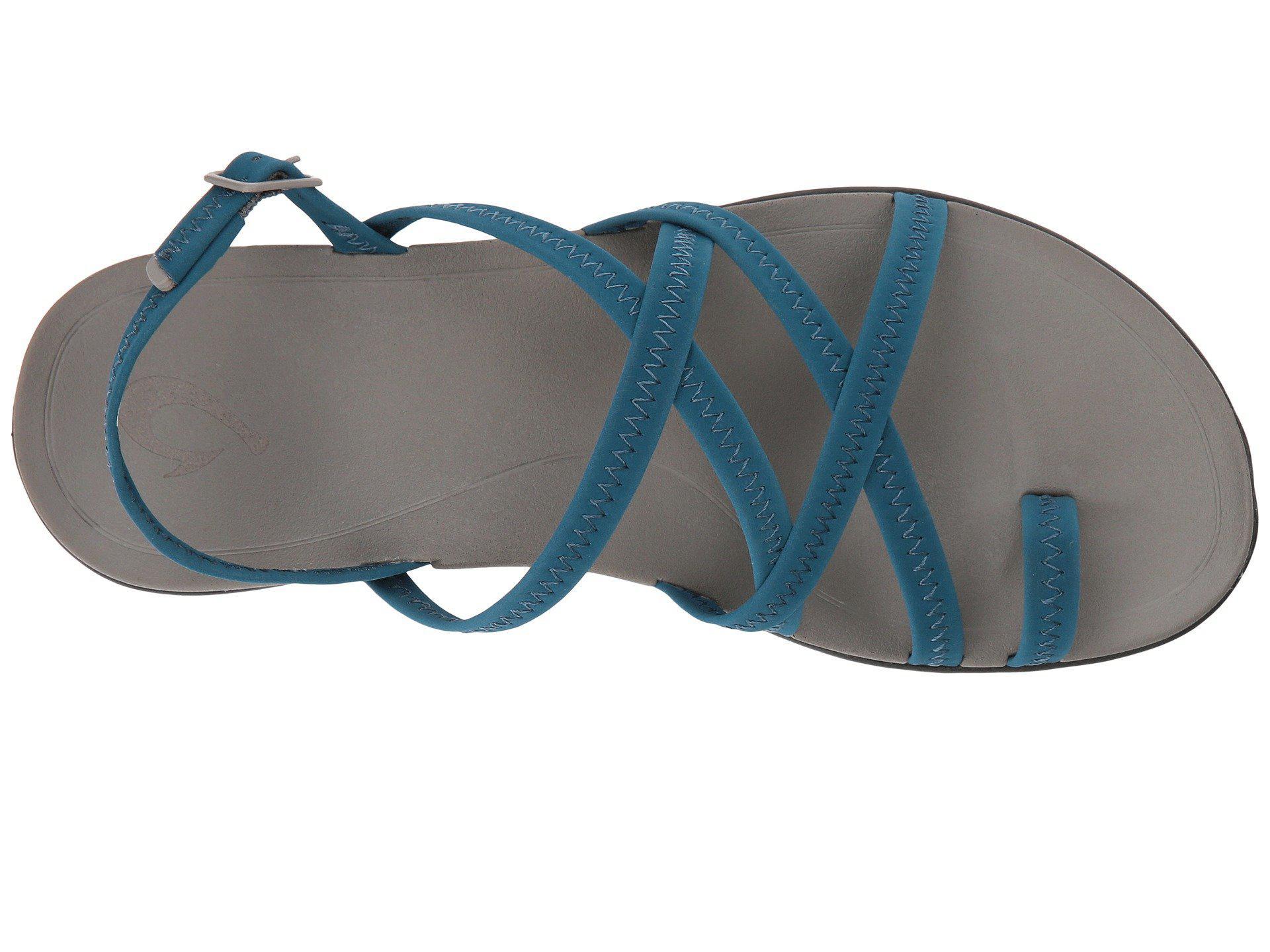 f03705227cc9 Lyst - Olukai Kalapu (hibiscus dark Shadow) Women s Sandals in Blue