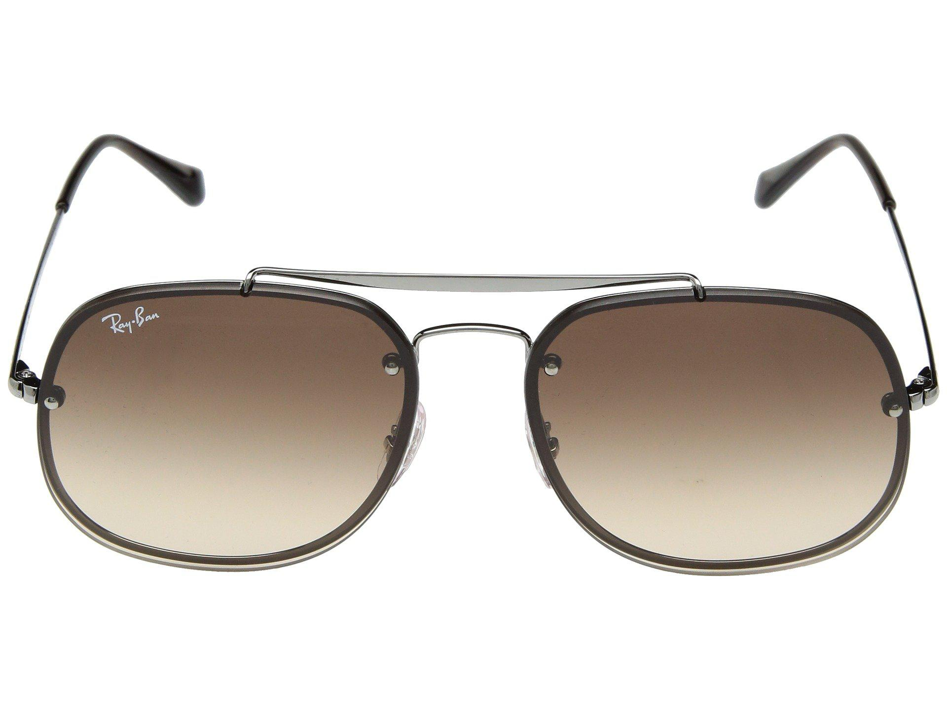 466fd287ba Ray-Ban - Brown Blaze General Rb3583n 58mm (copper clear Gradient Red  Mirror. View fullscreen