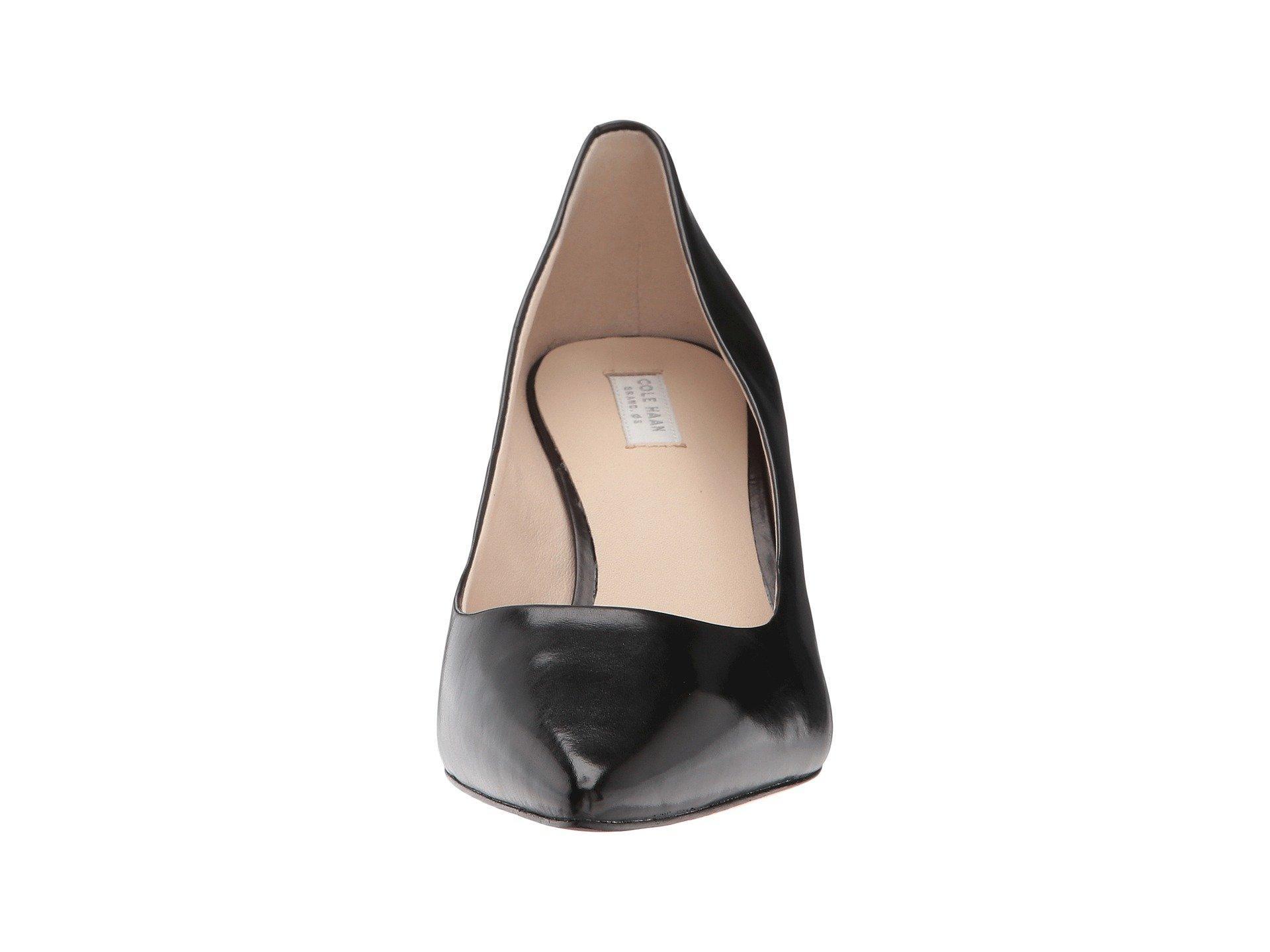 6927d6f1fb8 Lyst - Cole Haan Vesta Pump (45mm) (stormcloud Suede) Women s Shoes ...