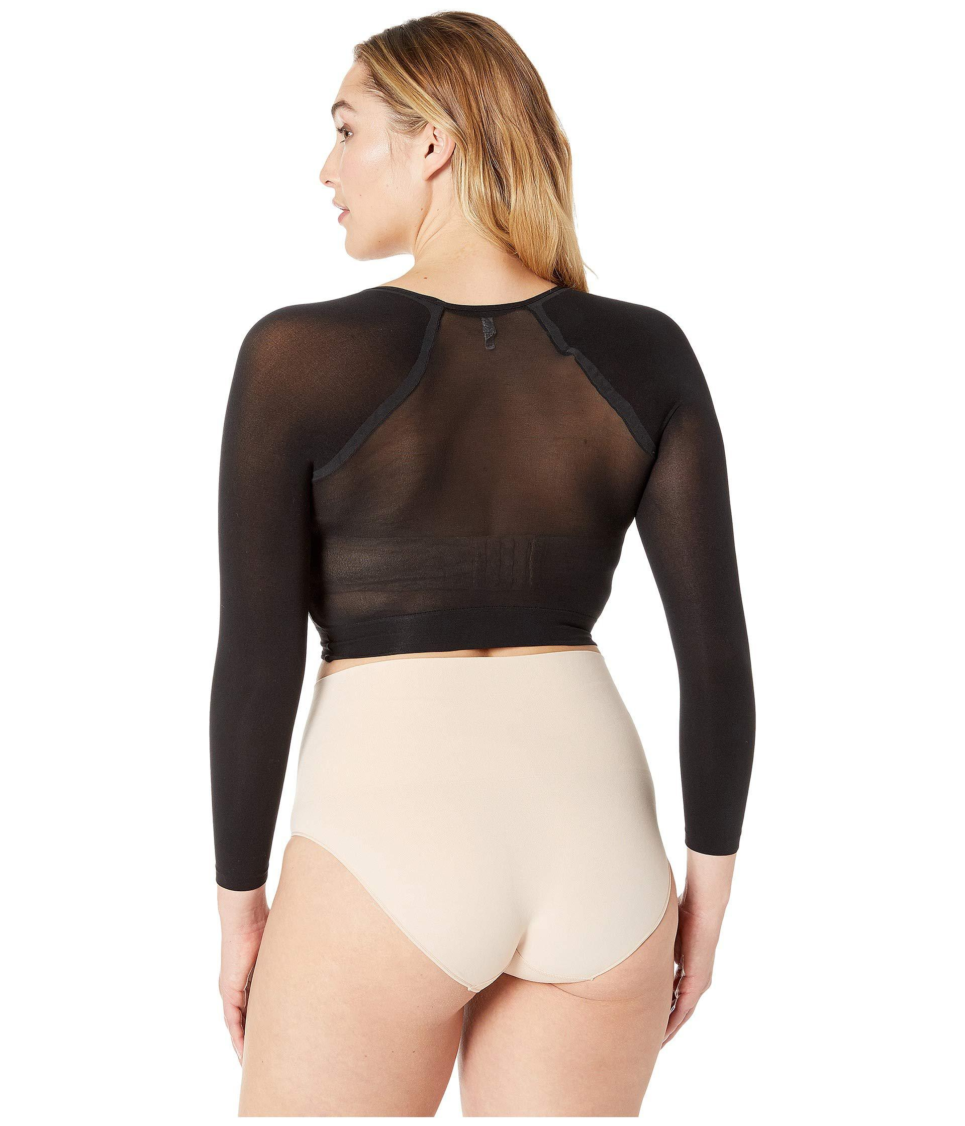 3287834faae Spanx - Plus Size Opaque Arm Tights (very Black) Women s Underwear - Lyst.  View fullscreen