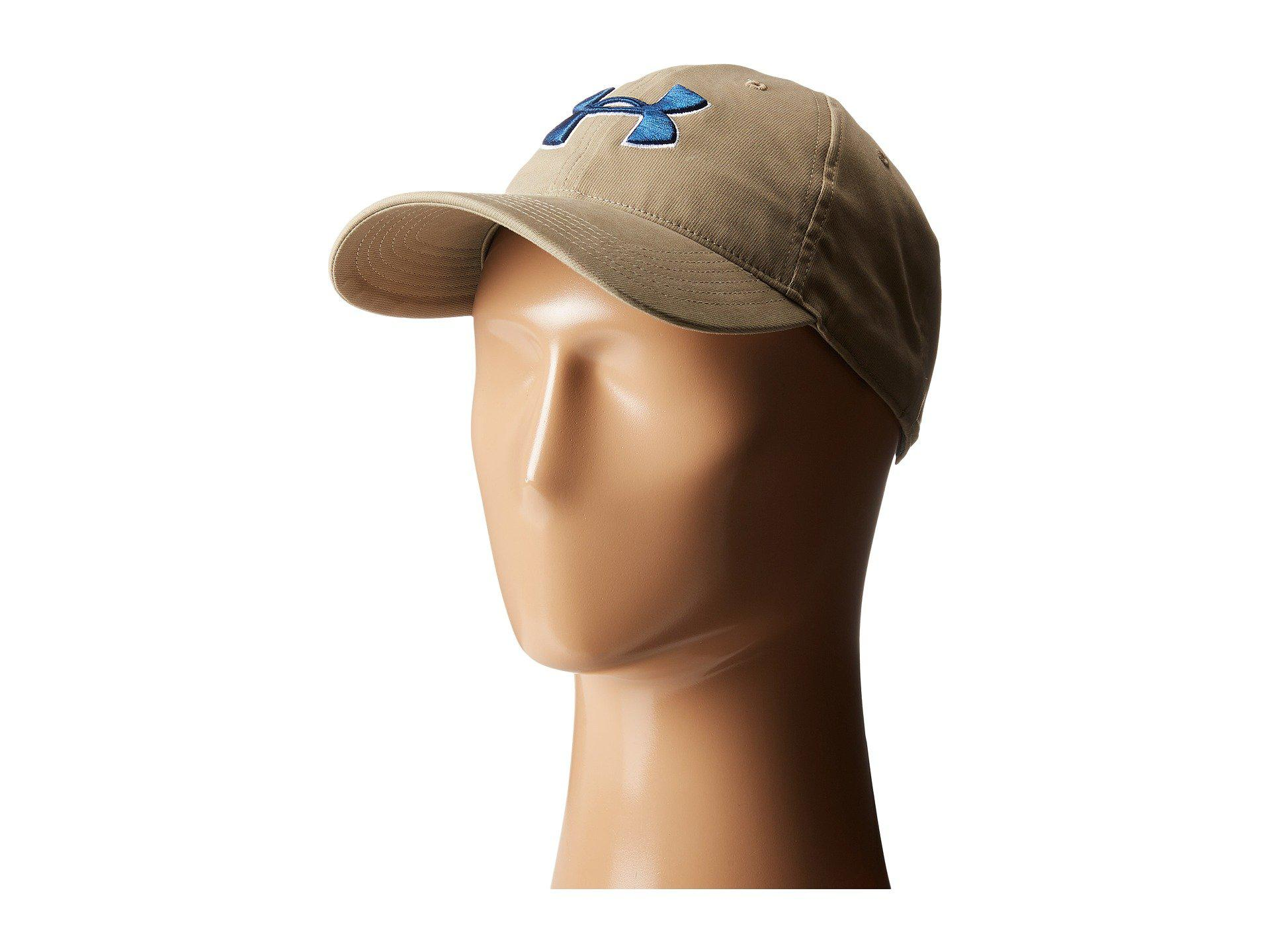 ddf11553d2b Lyst - Under Armour Ua Chino Cap in Natural for Men