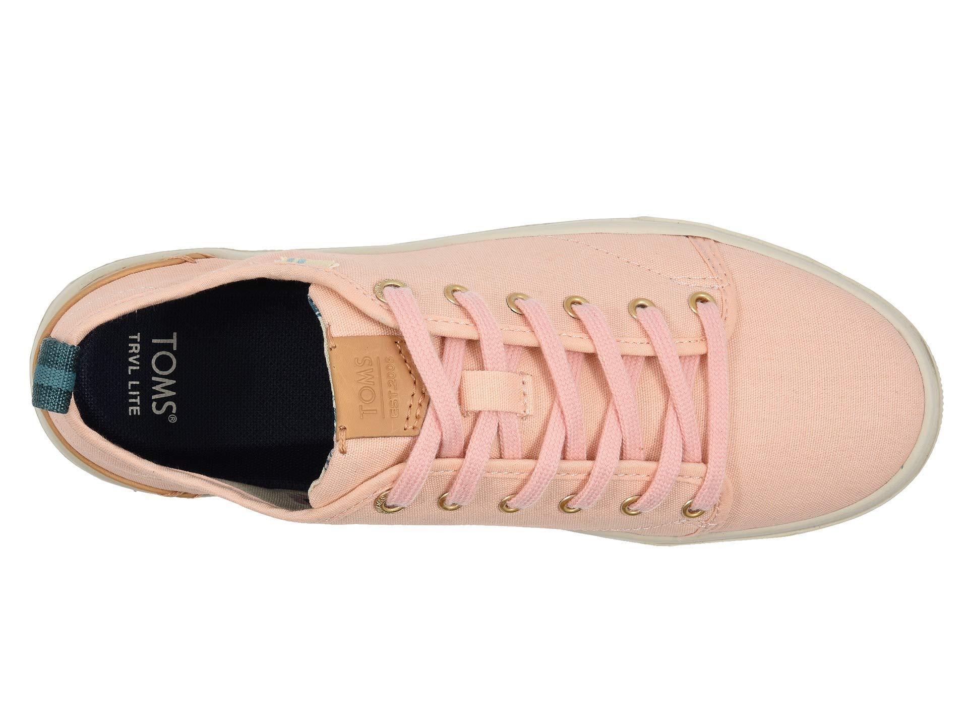 1e69e8fefb4 TOMS - Pink Trvl Lite Low (birch Canvas) Women s Shoes - Lyst. View  fullscreen