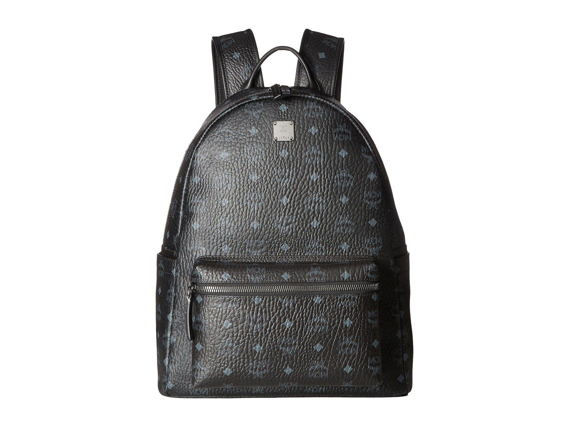 52bb14d8575b Lyst - MCM Stark No Stud Medium Backpack (white) Backpack Bags in ...
