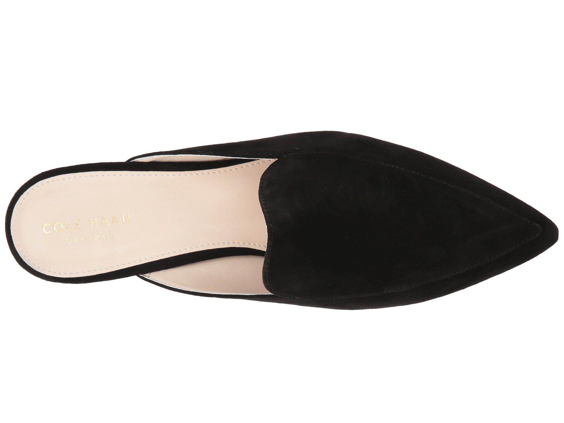 4b2ed307686 Cole Haan - Piper Mule (black Leather) Women s Shoes - Lyst. View fullscreen