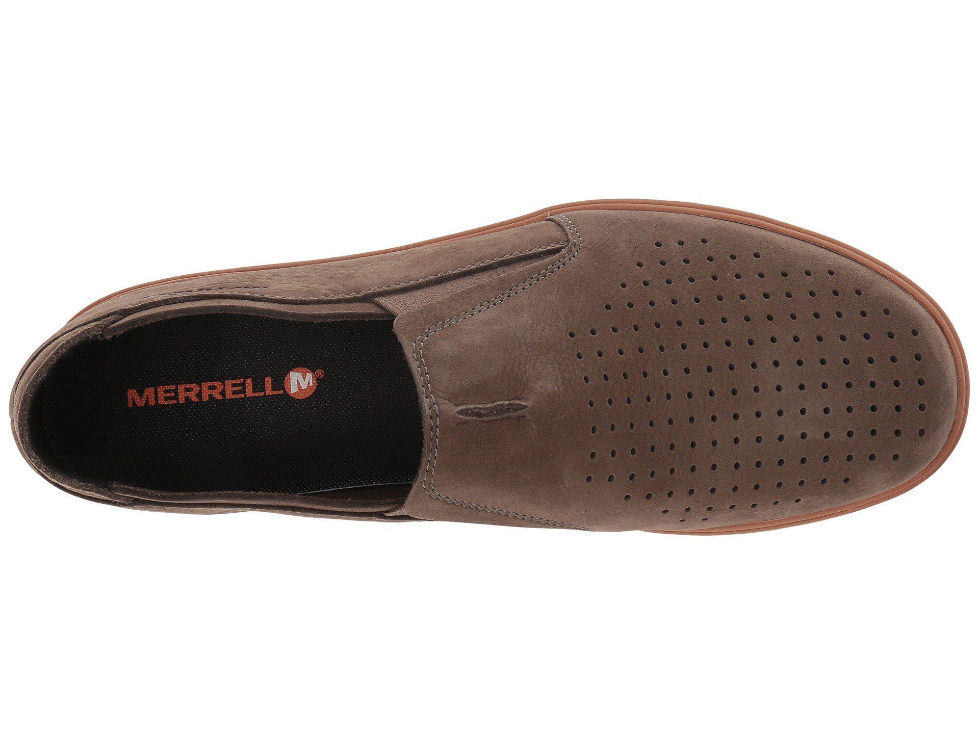 4cf9bd00f3e2e Merrell - Brown Downtown Moc (slate) Men's Shoes for Men - Lyst. View  fullscreen