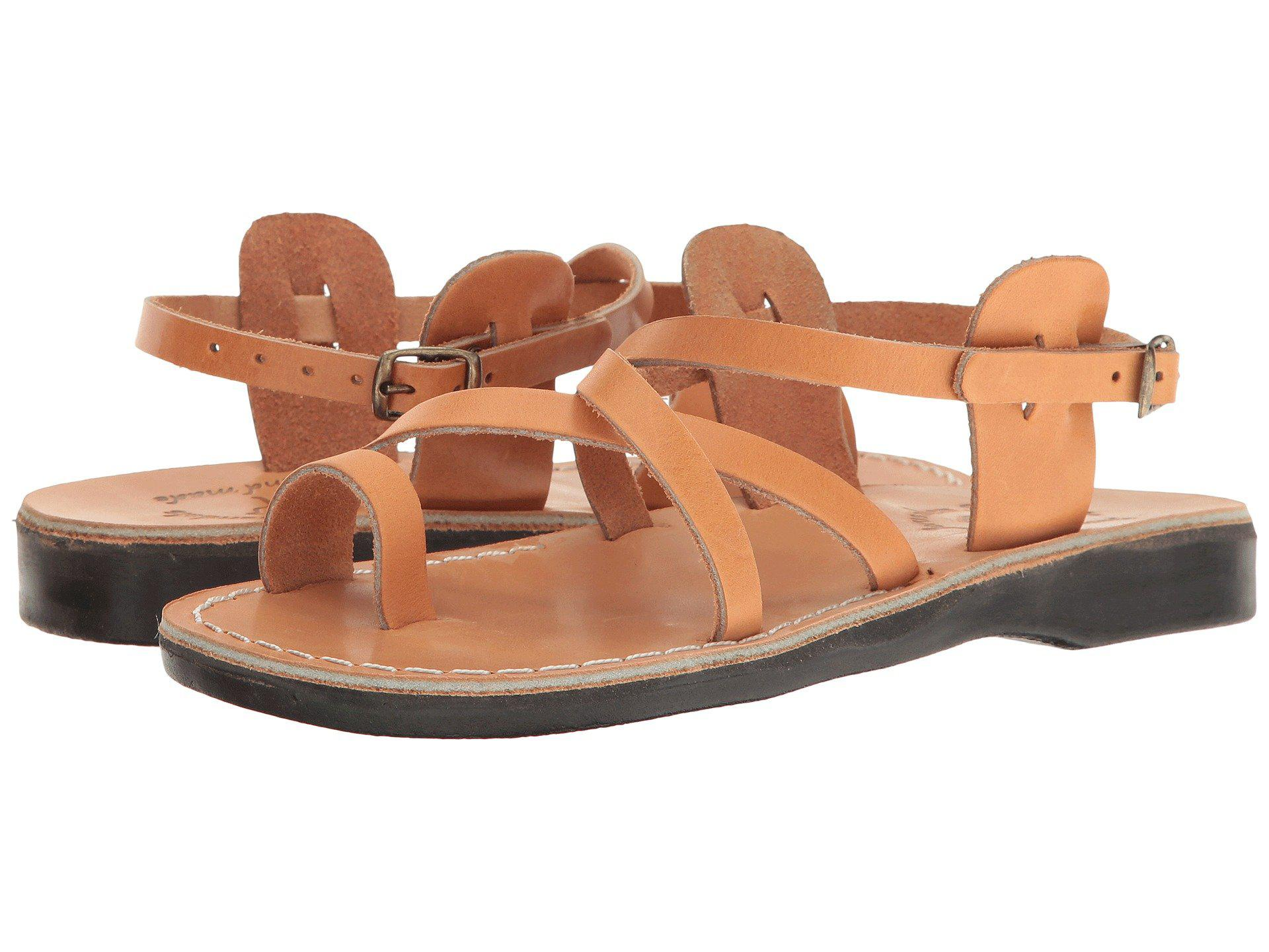 47489cf4792b Lyst - Jerusalem Sandals The Good Shepherd Buckle - Womens (honey ...
