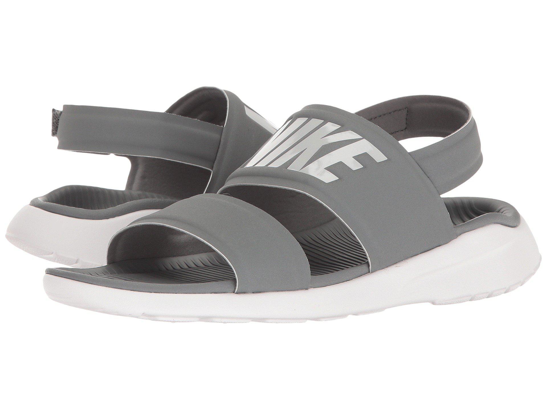 a6d0b12423f8 Nike. Gray Tanjun Sandal (cool Grey white pure Platinum) Women s Shoes