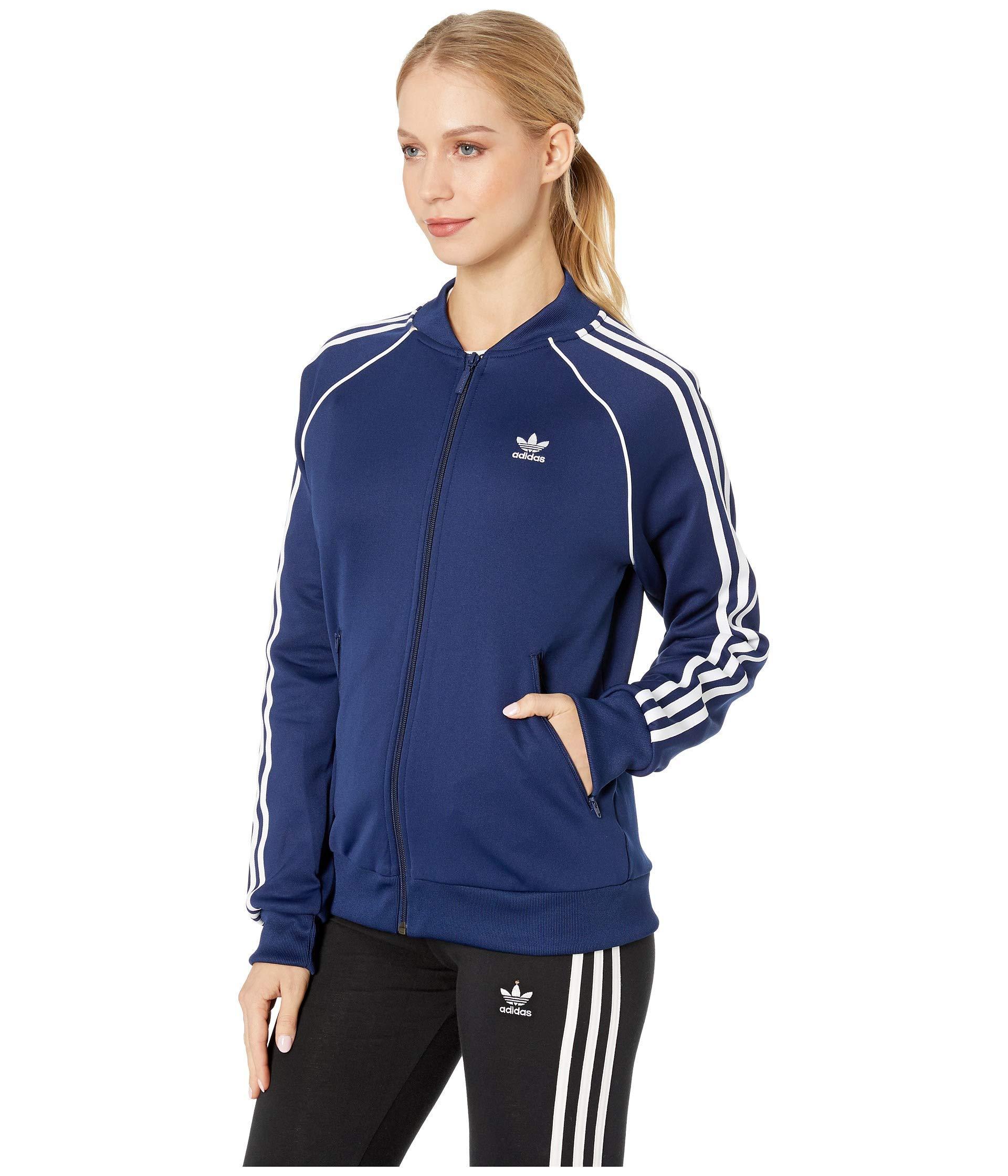 c015869fbf2f Lyst - adidas Originals Superstar Track Jacket (multicolor 2) Women s Coat  in Blue