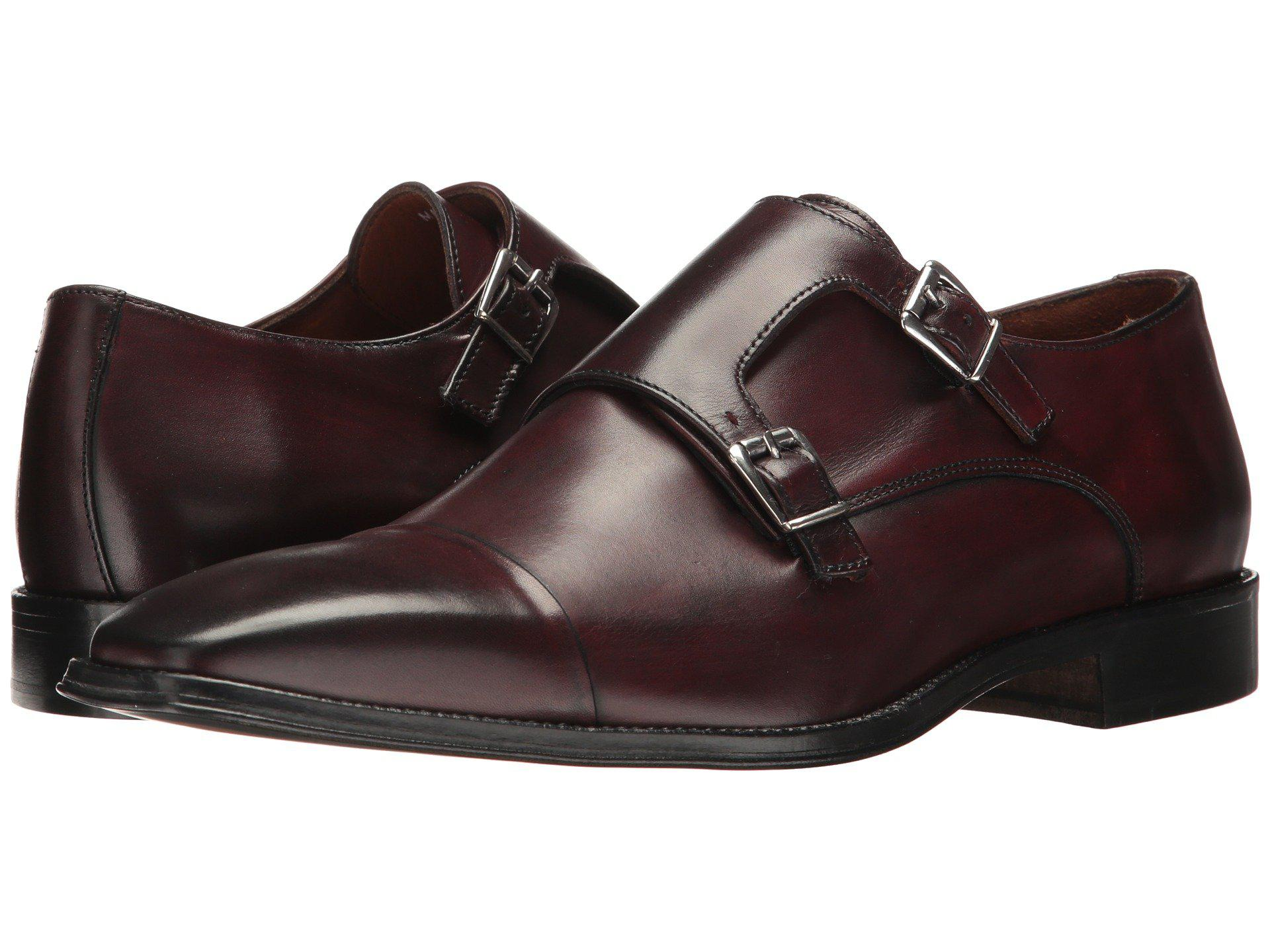 Massimo Matteo. Men's Brown Double Monk ...