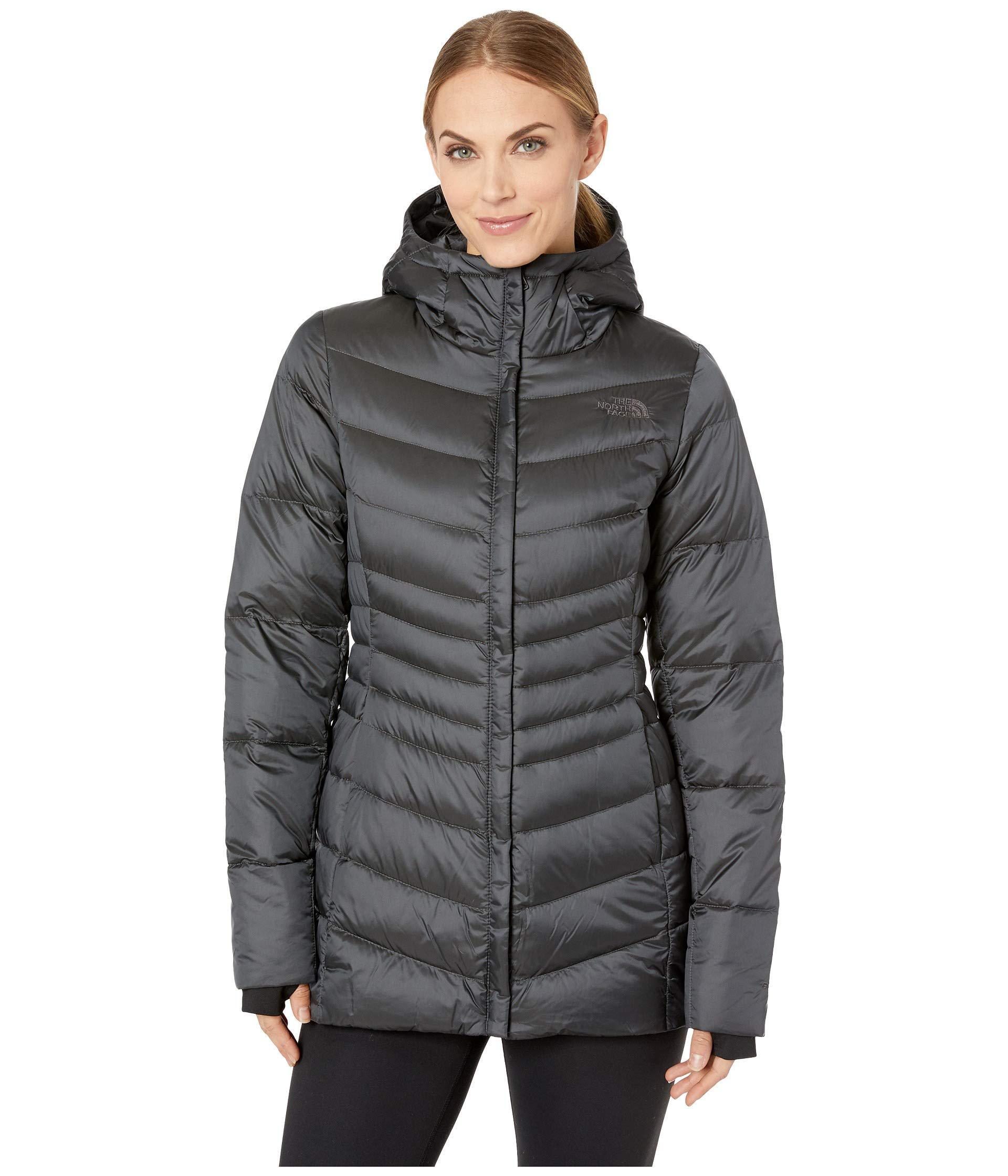 e6a223fa41dac The North Face. Gray Aconcagua Parka Ii (shiny Asphalt Grey) Women s Coat